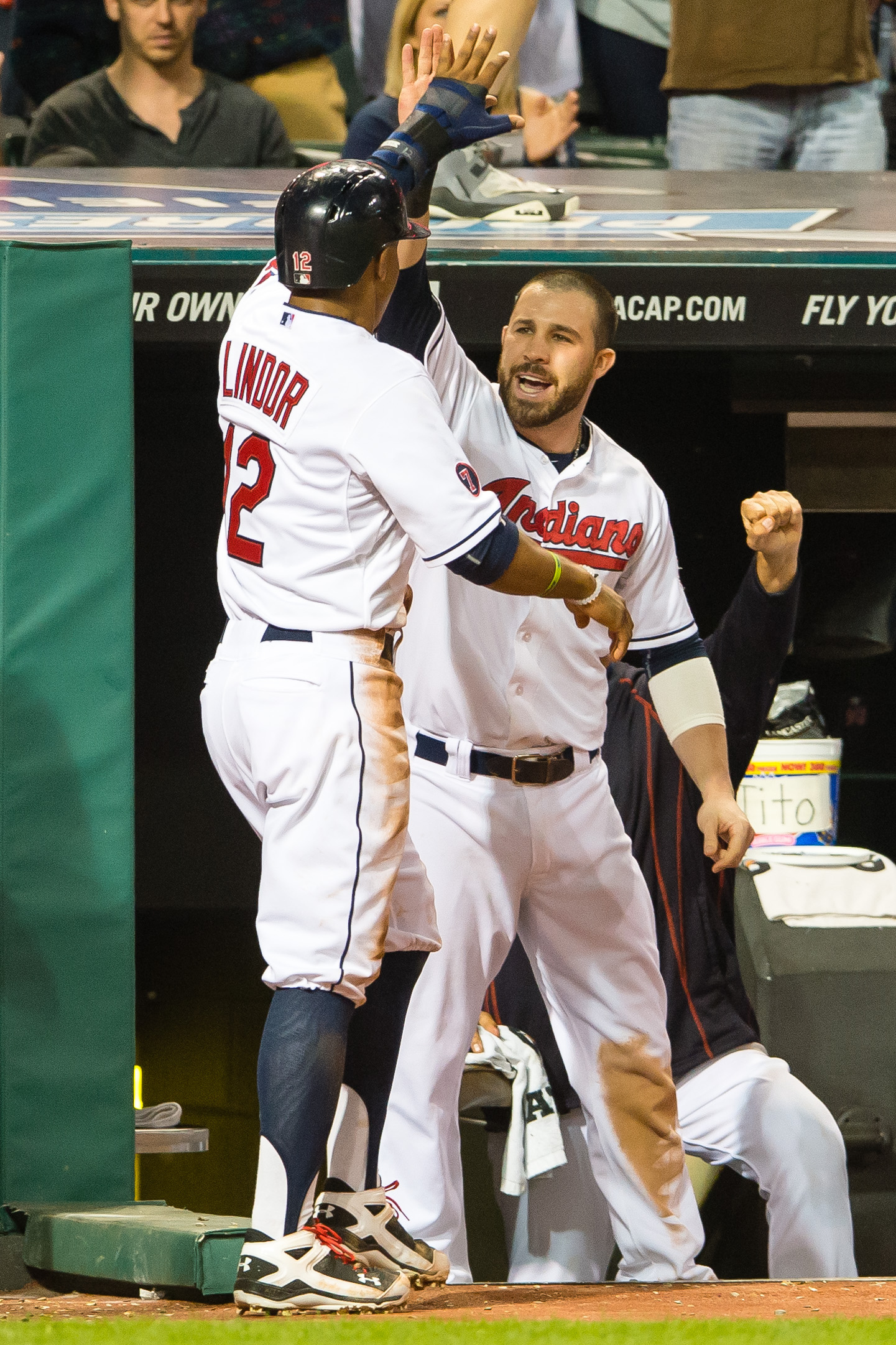 The dynamic Tribe middle infield