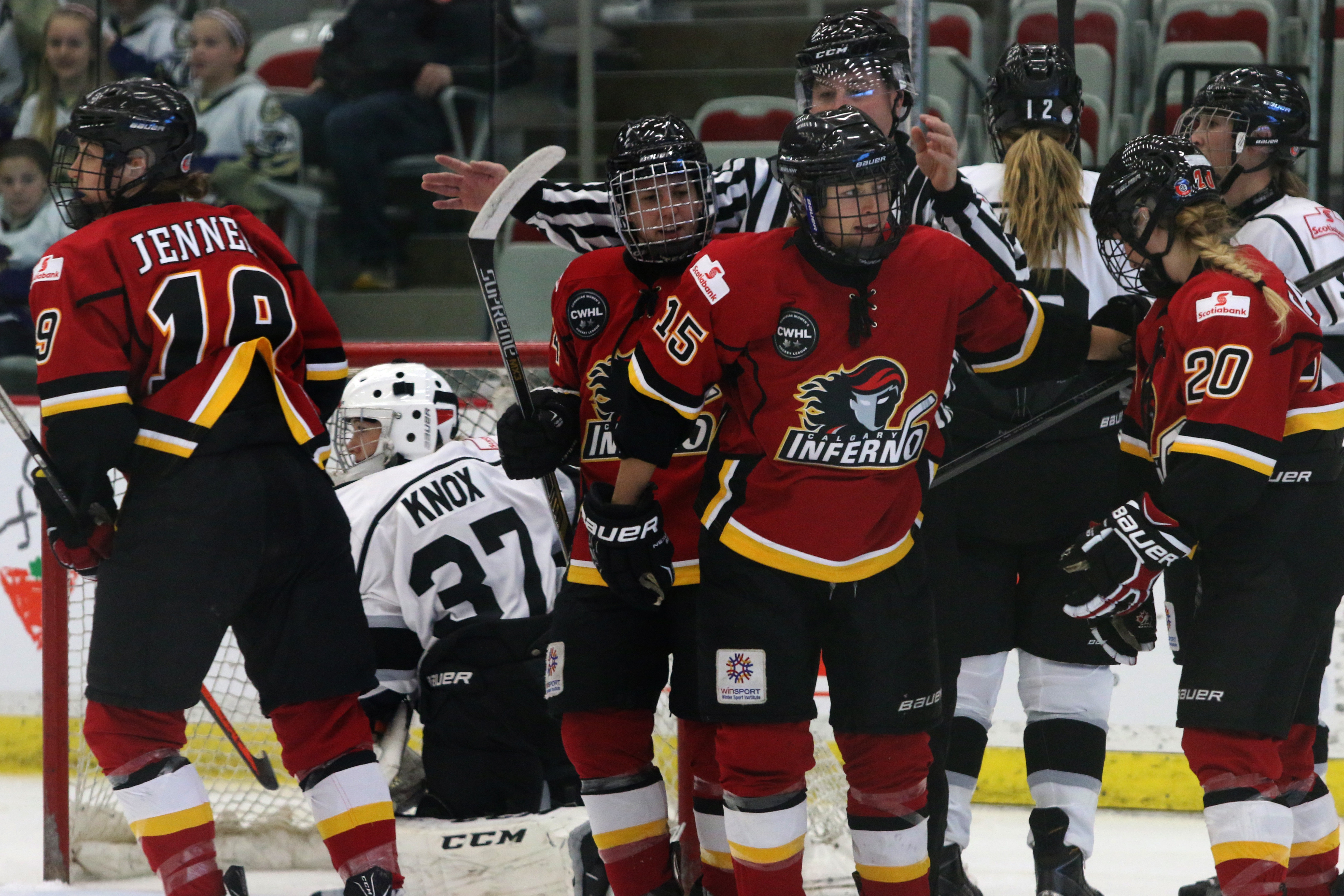 The Calgary Inferno are looking to light up the lamp early and often against the Brampton Thunder at Winsport this weekend, for a chance to get to the Clarkson Cup Final for the first time in franchise history.