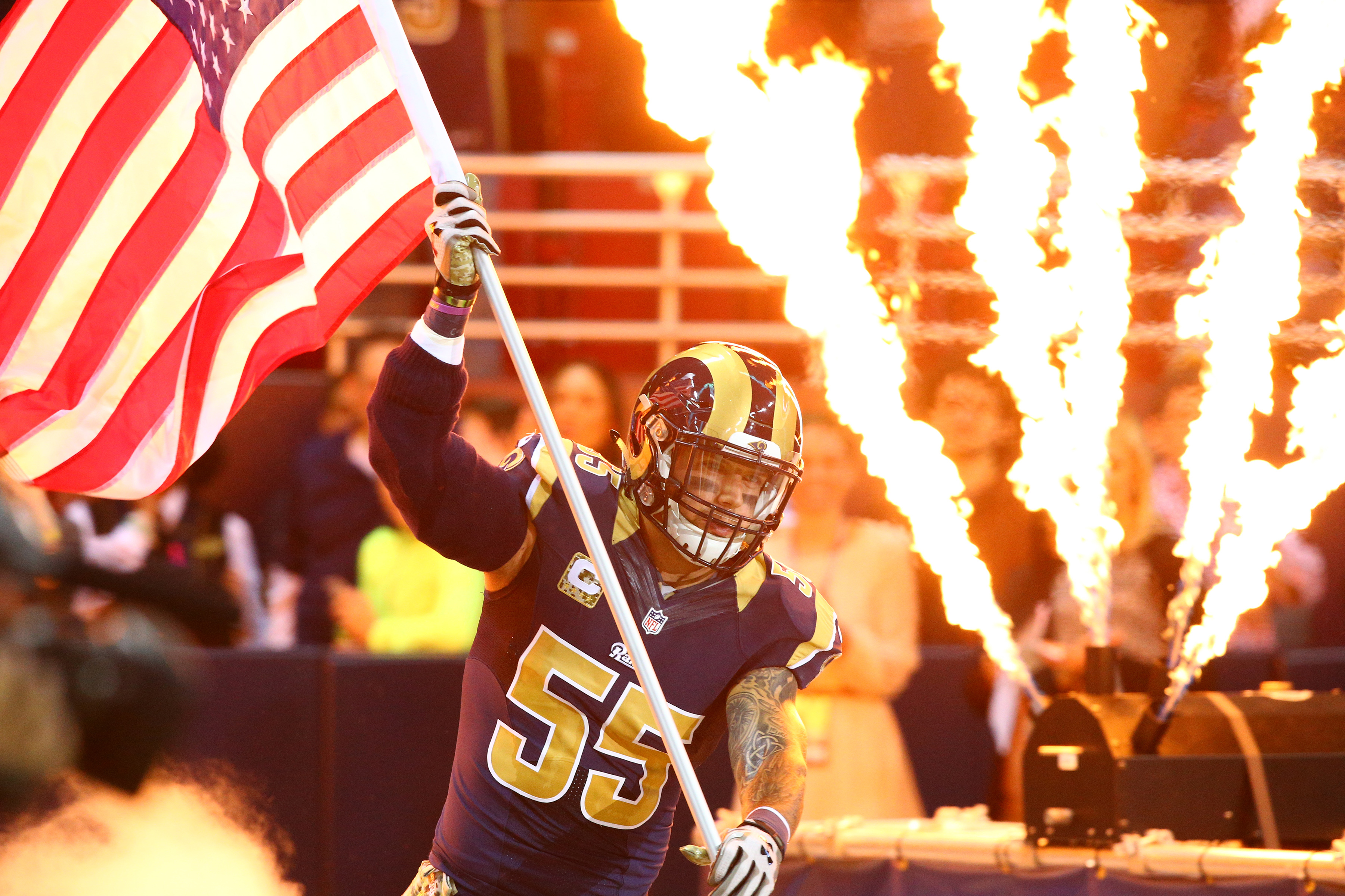 Flags, fire and the NFL!!!