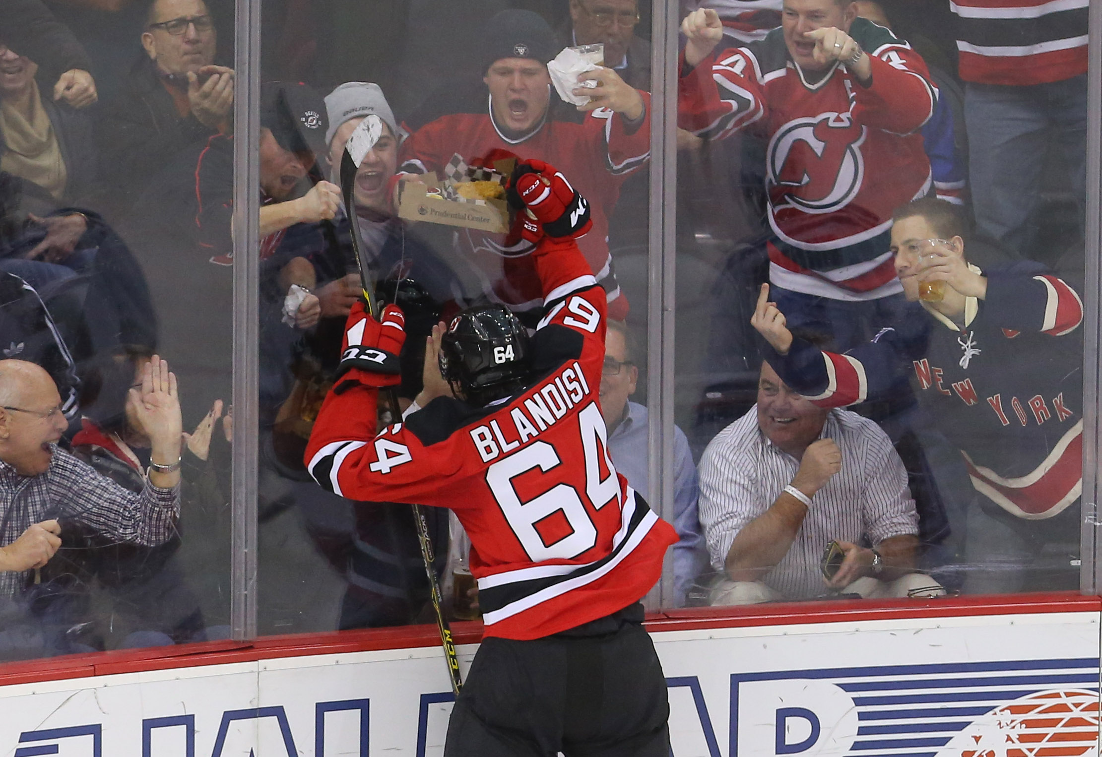 Joseph Blandisi in happier times earlier this month.
