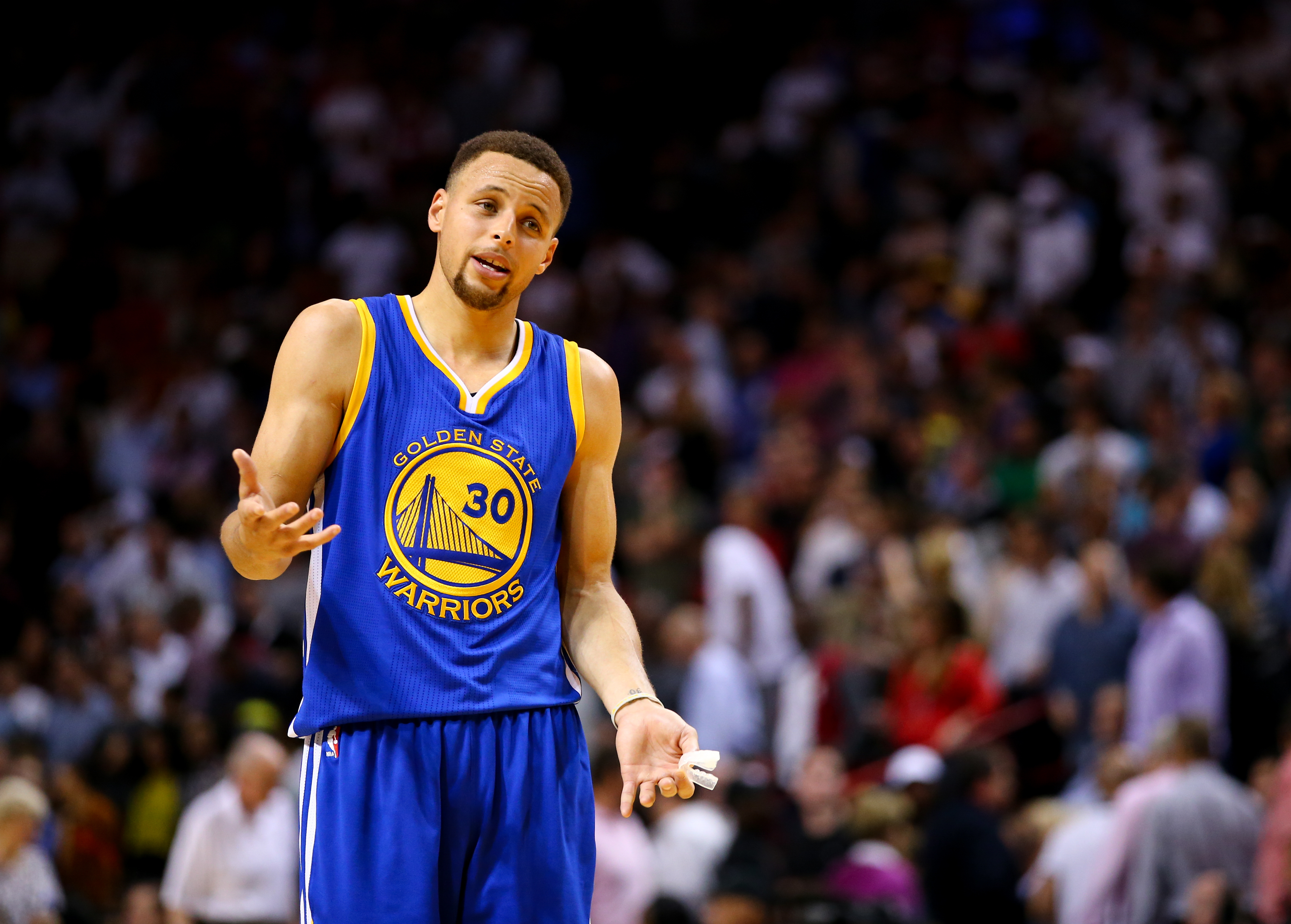 Behold Stephen Curry and the Warriors in their purest form