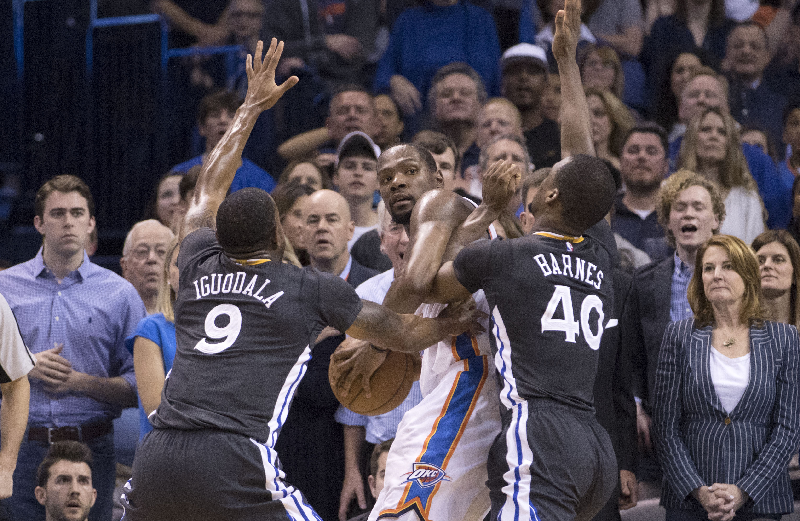 Kevin Durant was perfect against the Warriors until he wasn't