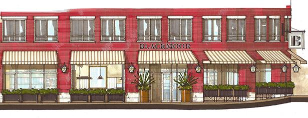 Blackmoor Bar + Kitchen rendering