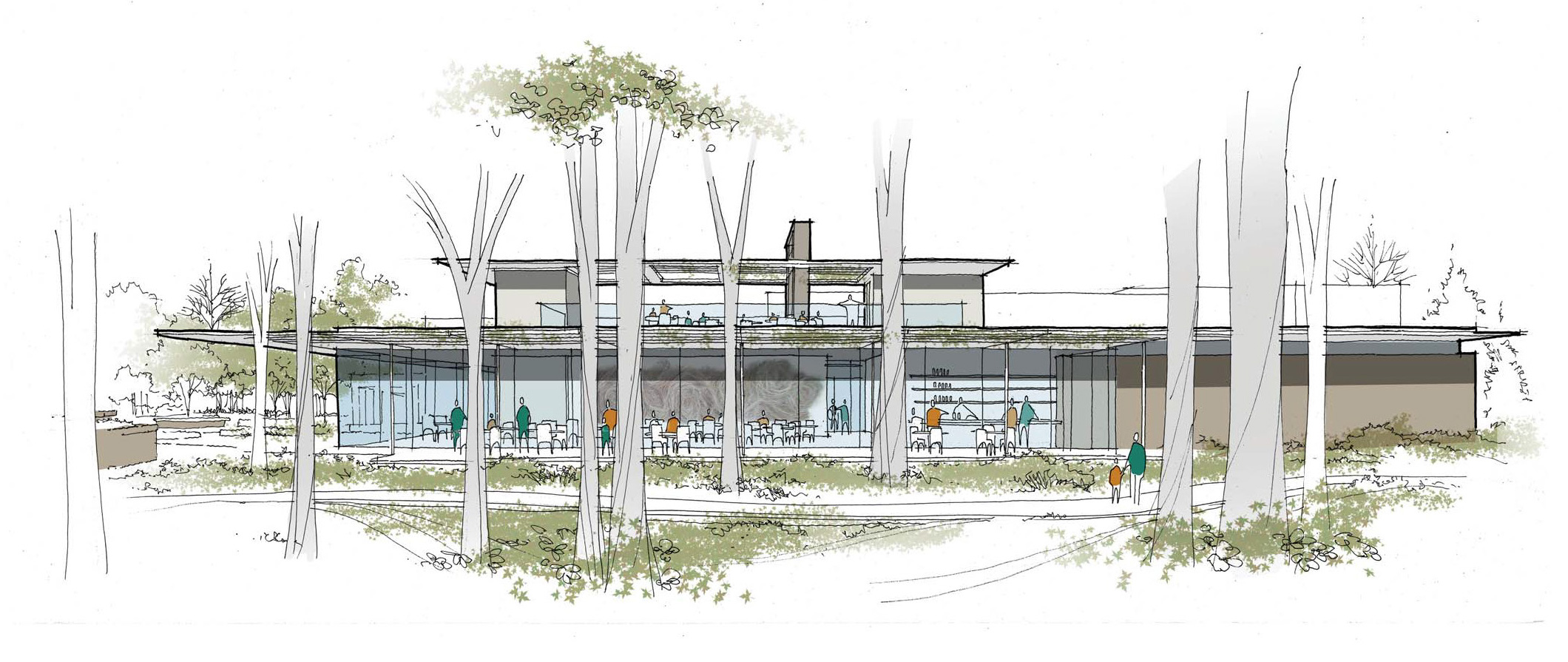 A rendering of Linton's In The Garden.