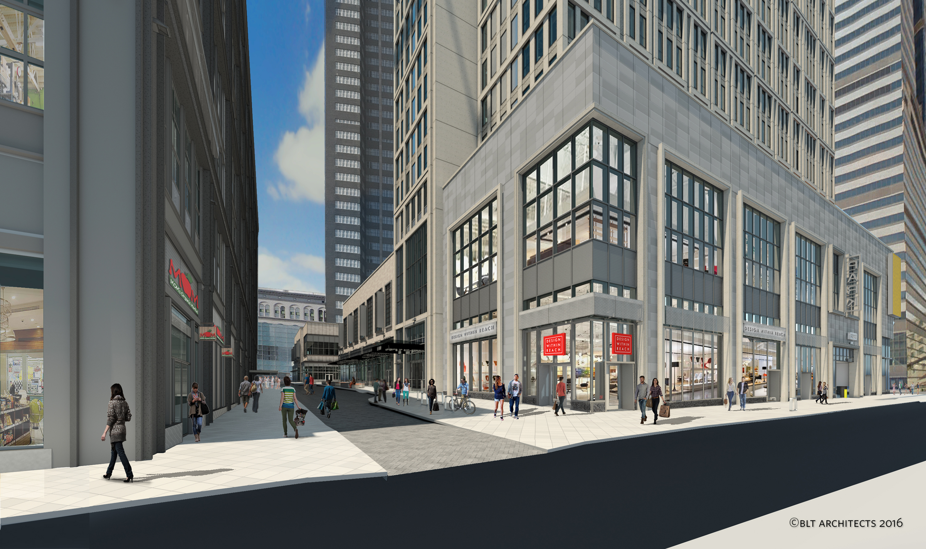 Design Within Reach will be located at 11th and Ludlow streets.