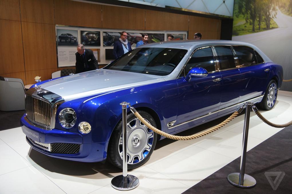 Bentley The Verge