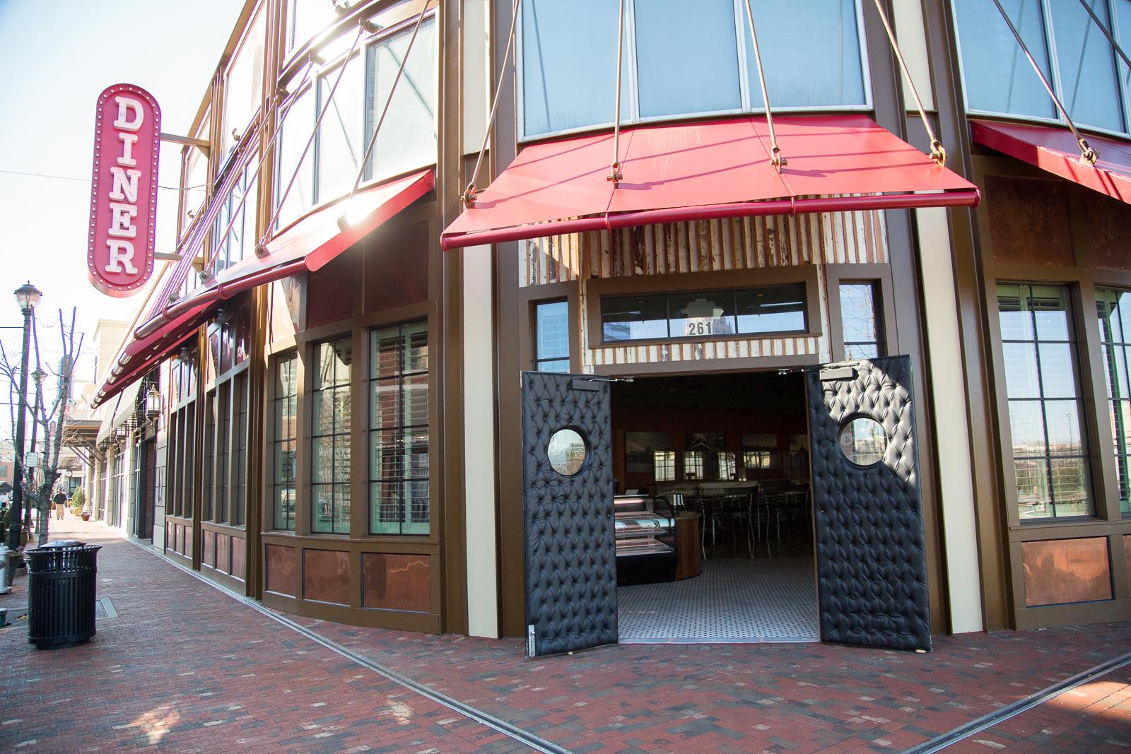 The former Diner.