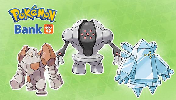 Legendary Pokémon giveaways continue with Pokémon Bank exclusives