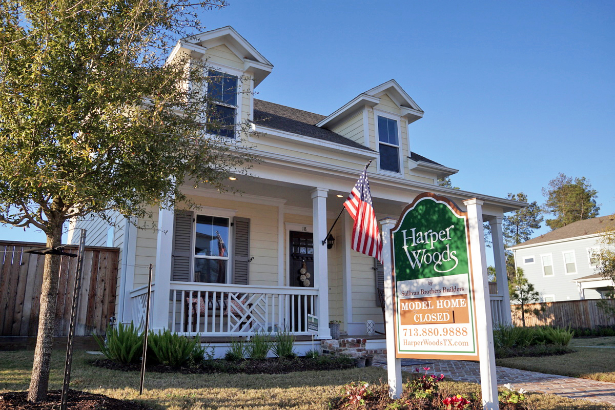 A recently sold home in a Sullivan Brothers Builders's Houston development.