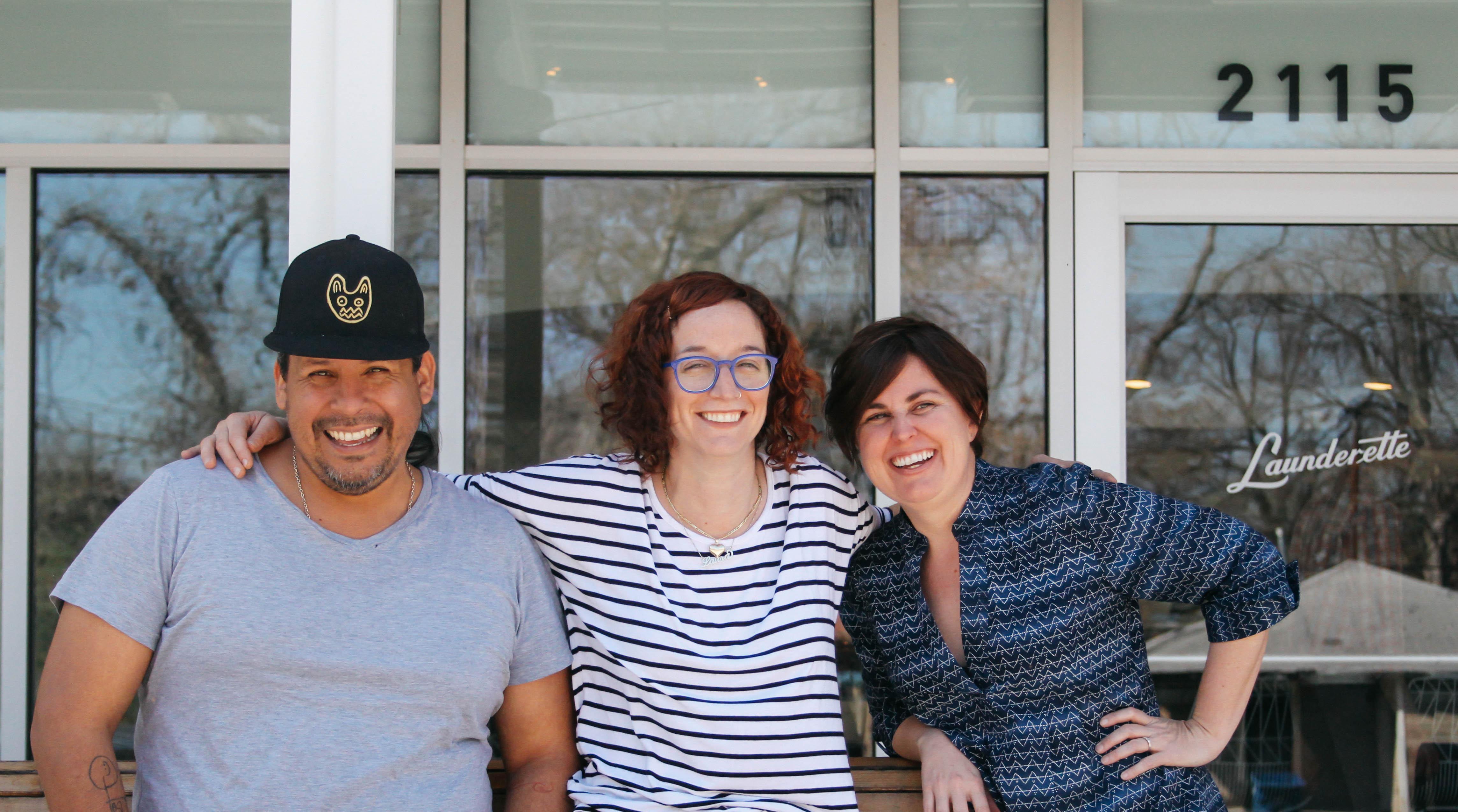 Rene Ortiz, Laura Sawicki, and Margaret Vera