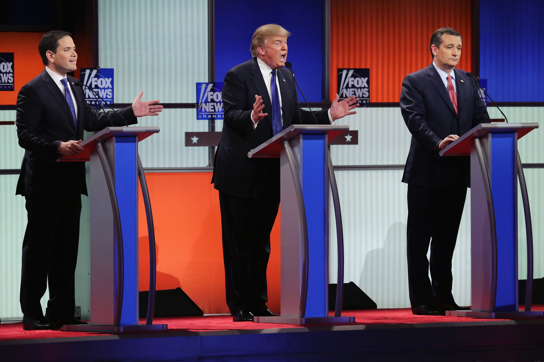 Fox News's Republican debate in Detroit.