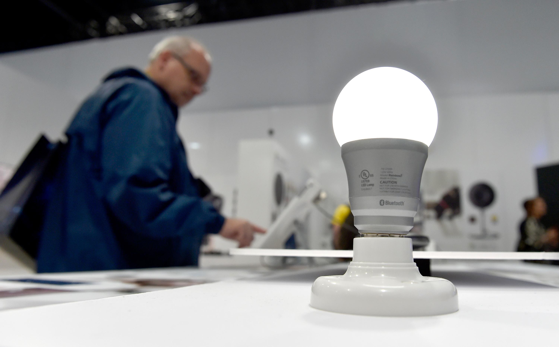 LED lightbulbs look a lot like conventional bulbs.