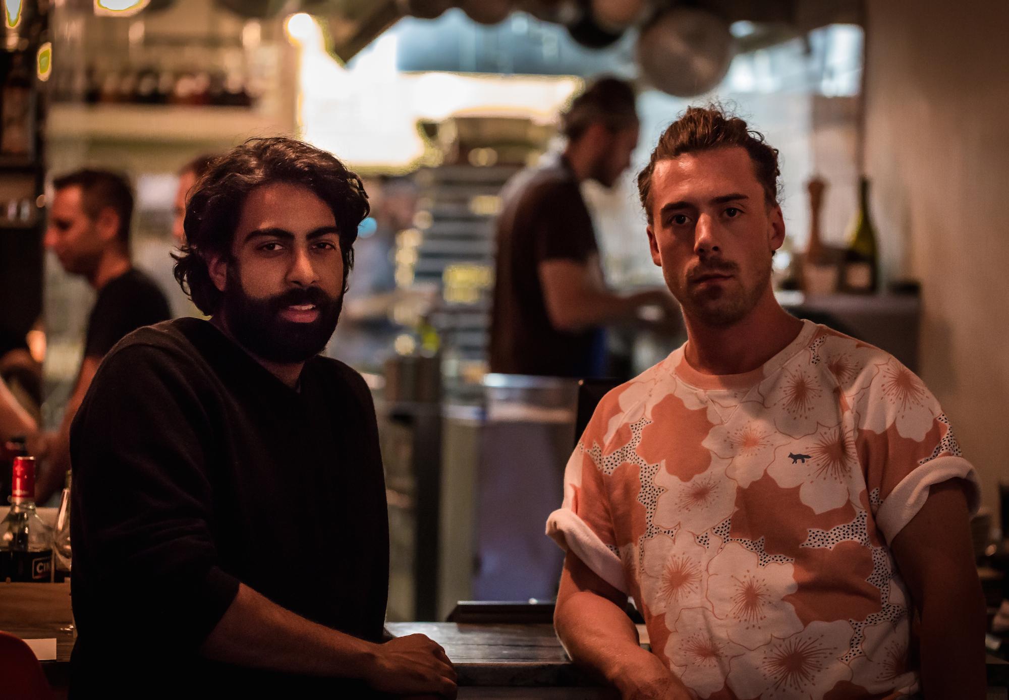 Kabir Kapoor and Jason Morris