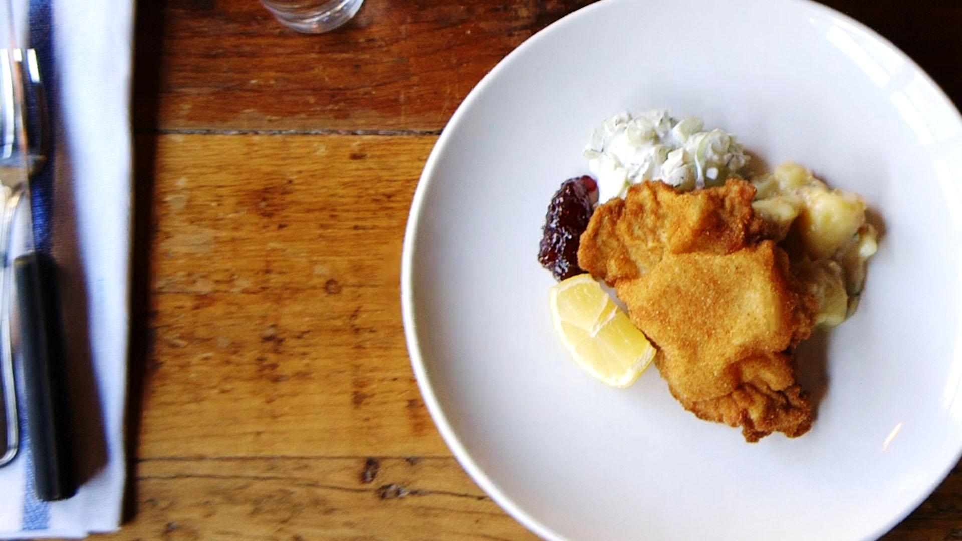 Recipe: Make Chef Eduard Frauneder's Schnitzel For Dinner Tonight
