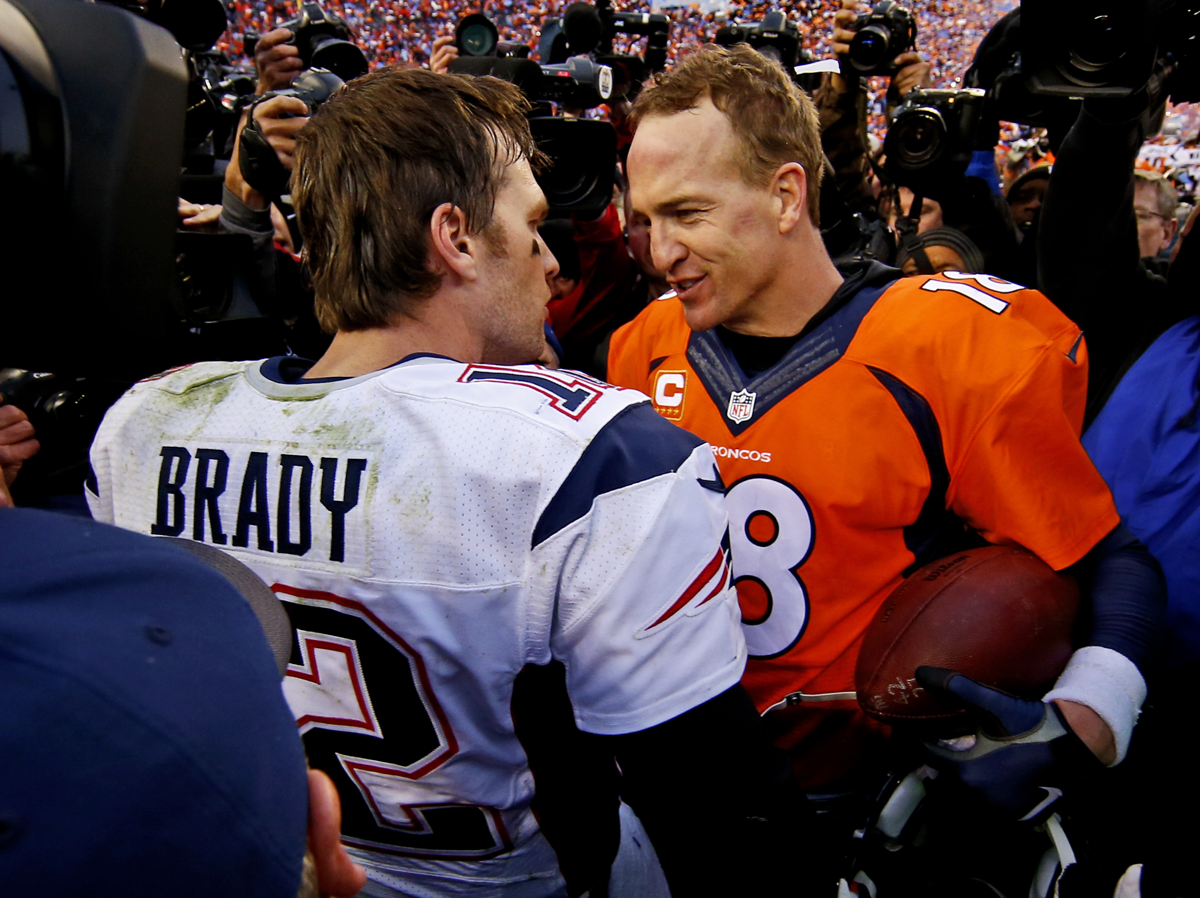 Tom Brady says not playing against Peyton Manning anymore 'will always suck'