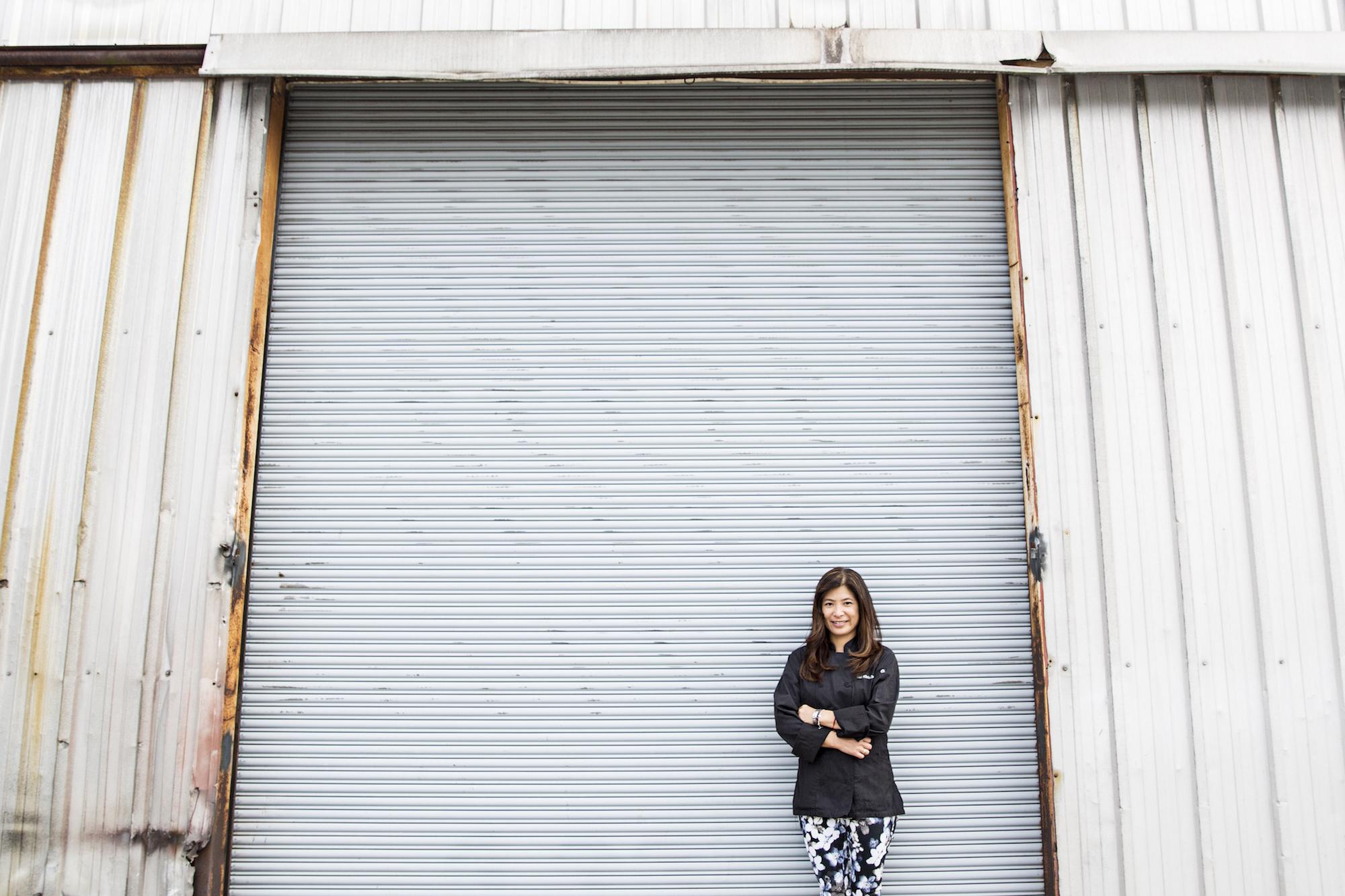 Mihoko Obunai at the future home of Nexto.