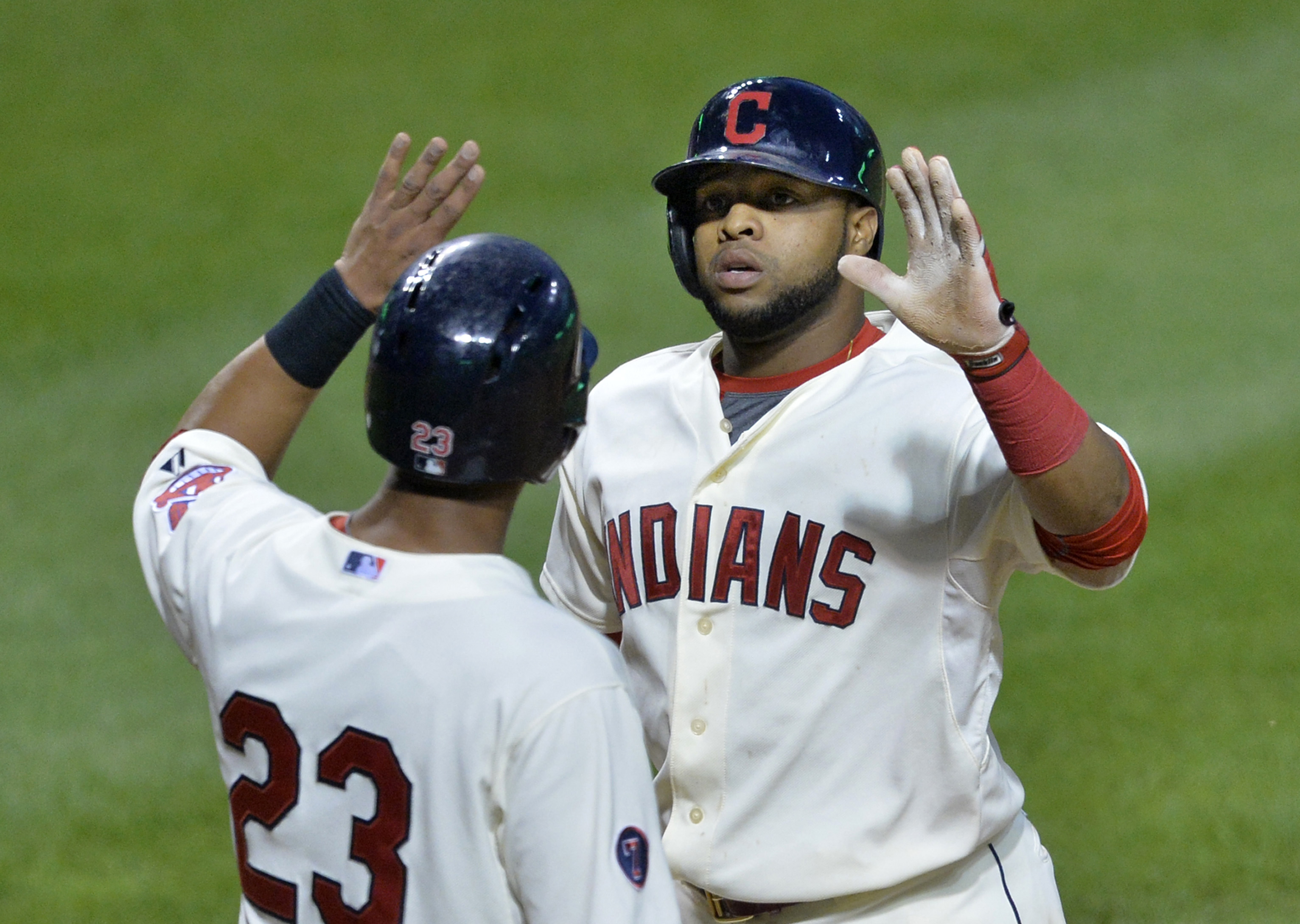 Will Michael Brantley and Carlos Santana help lead the Tribe to a top finish in the AL Central?
