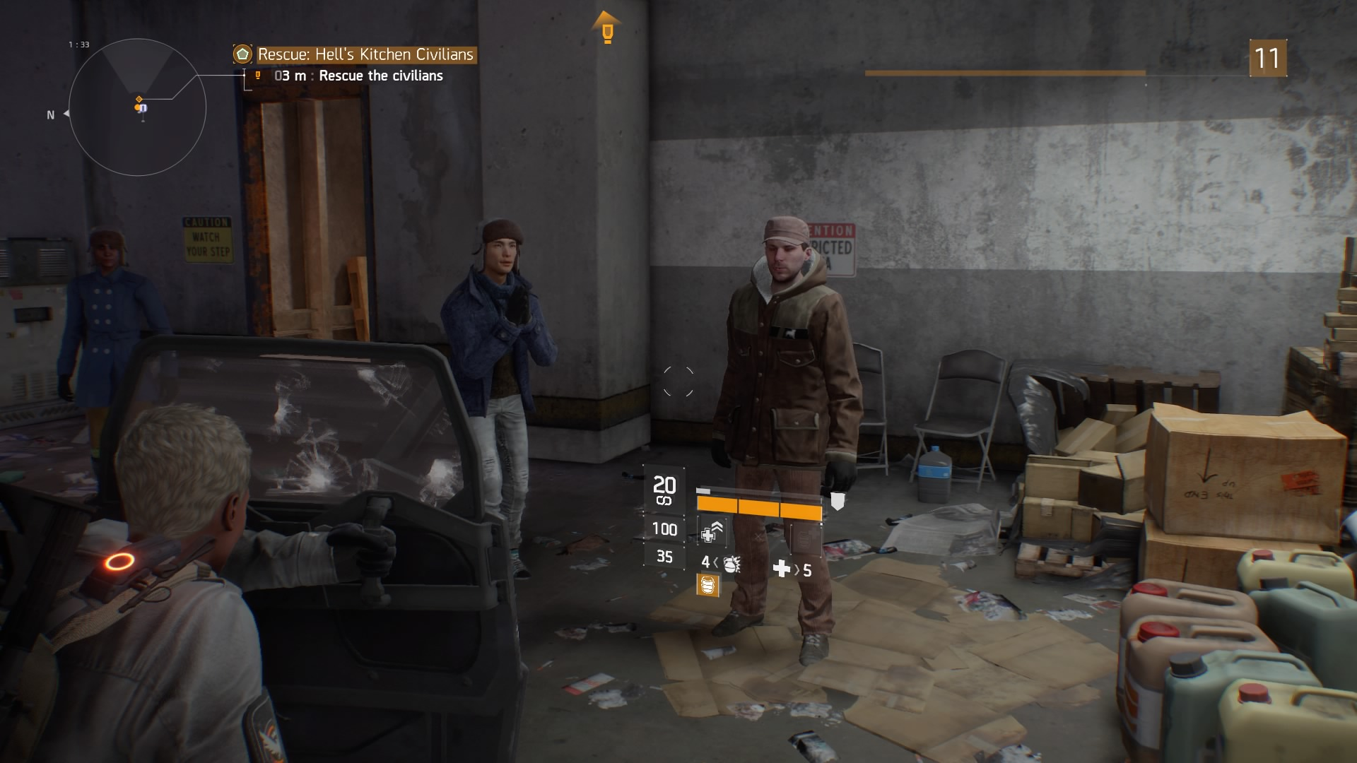 An open letter to the hostages I just saved in The Division