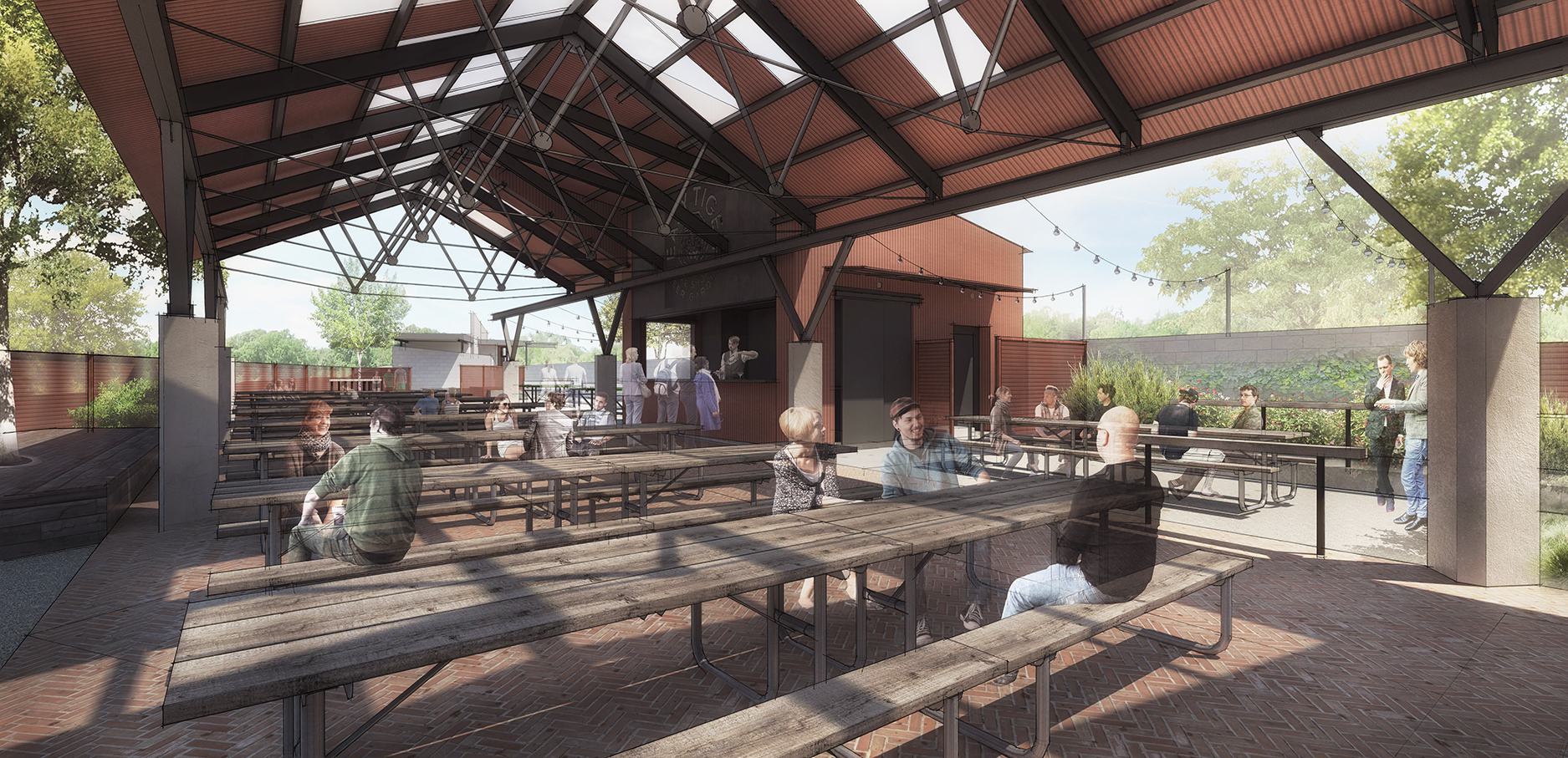 Rendering of Easy Tiger North