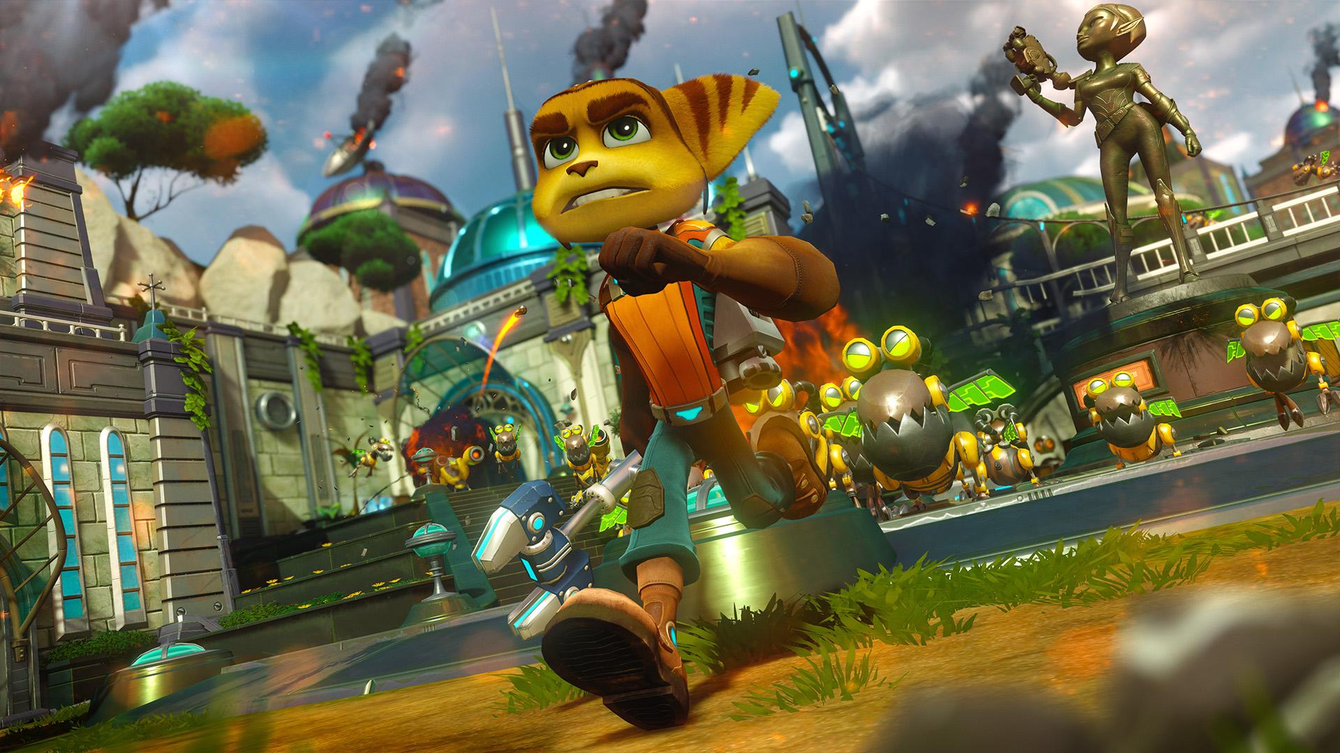 Imagini pentru Ratchet & Clank Hits