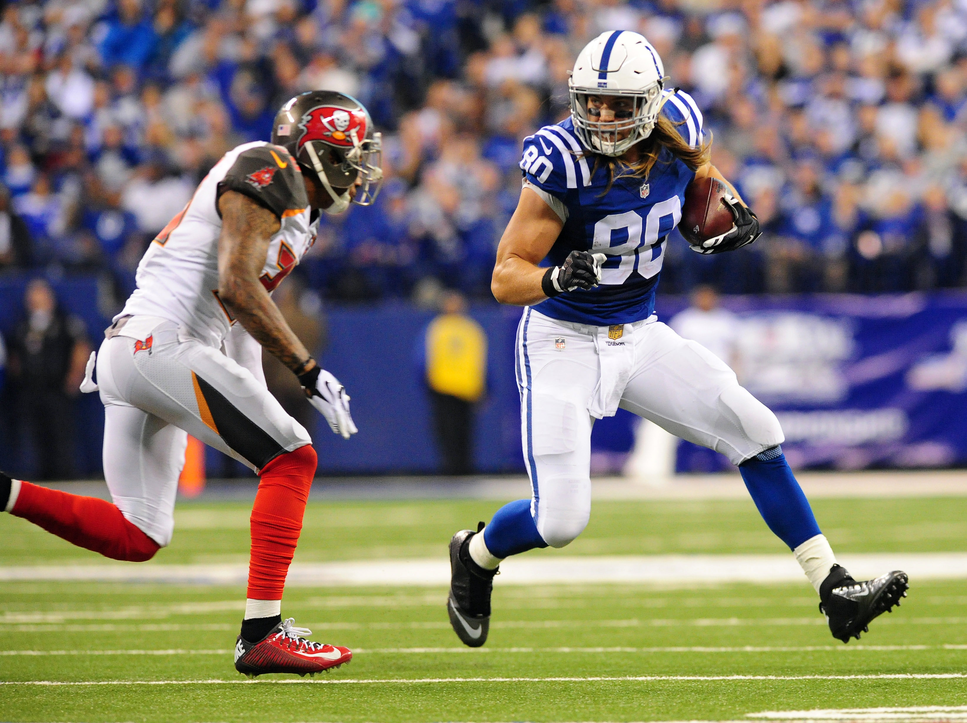 Coby Fleener Excelled in the Colts Offense the Last Few Seasons