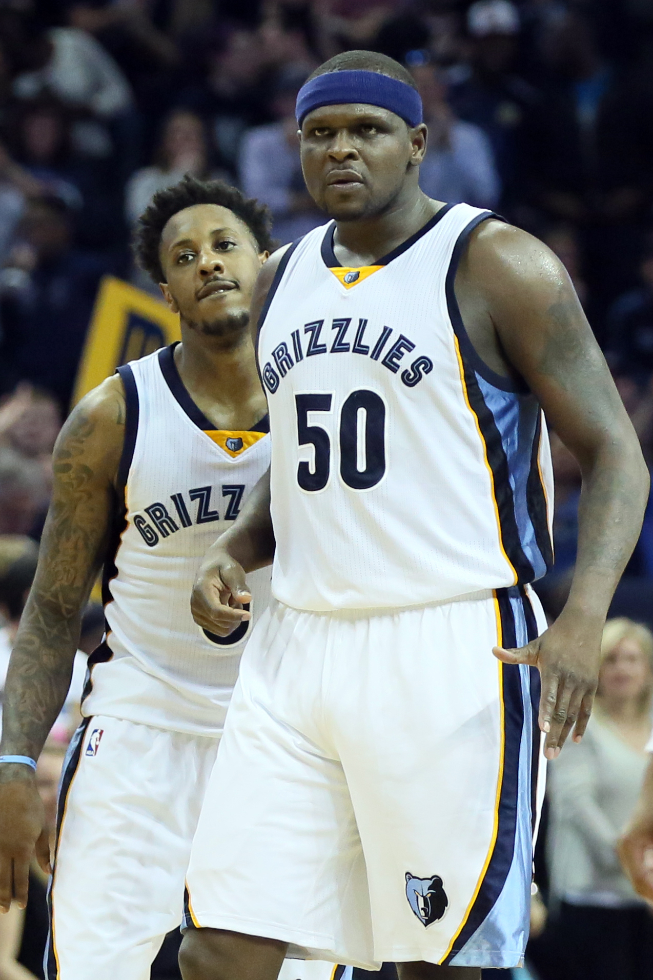 Mario Chalmers will no longer have the back of Zach Randolph this season. This can bring out a lot of different emotions...