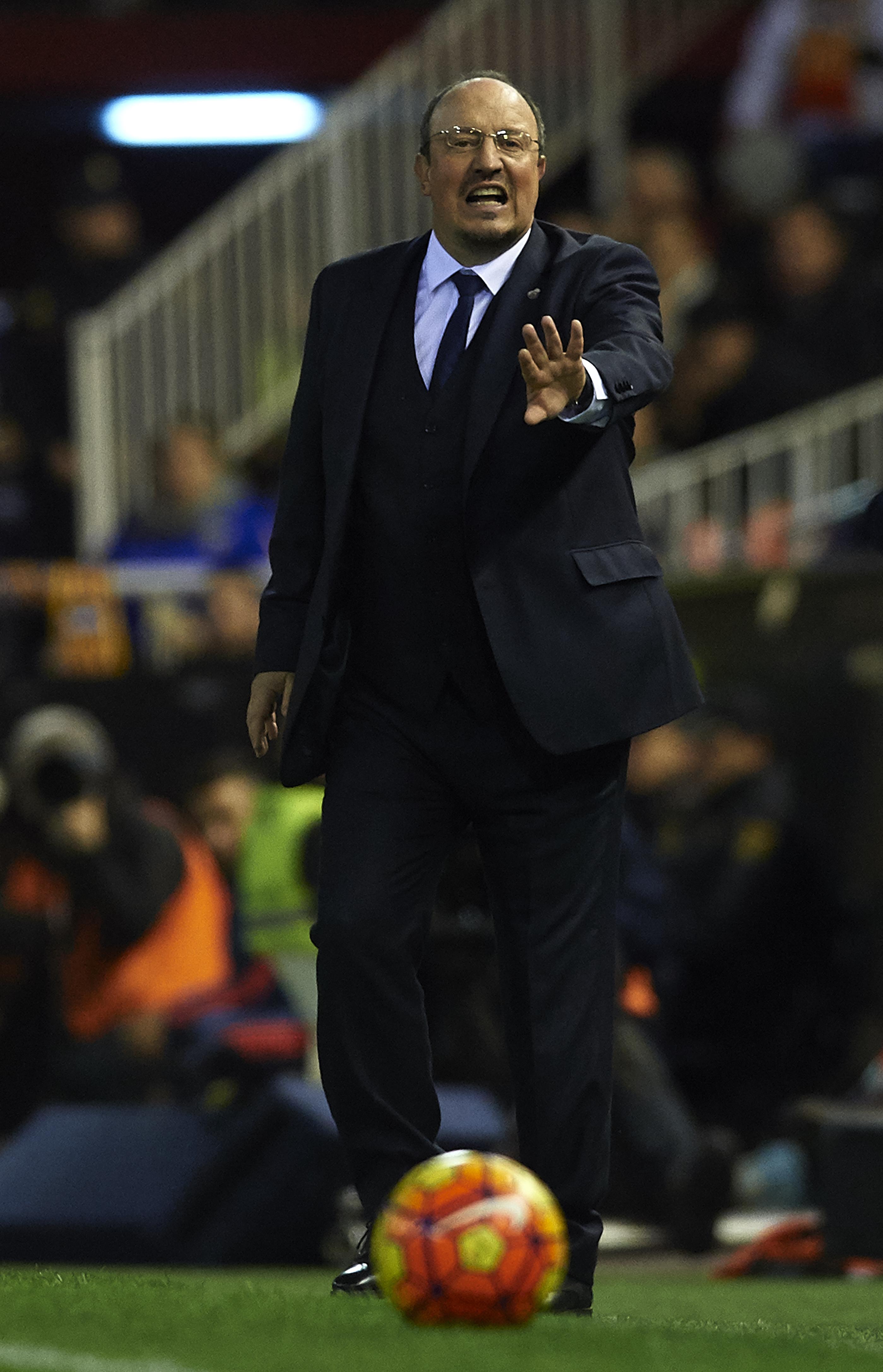 Rafa Benitez or Lamont Cranston?