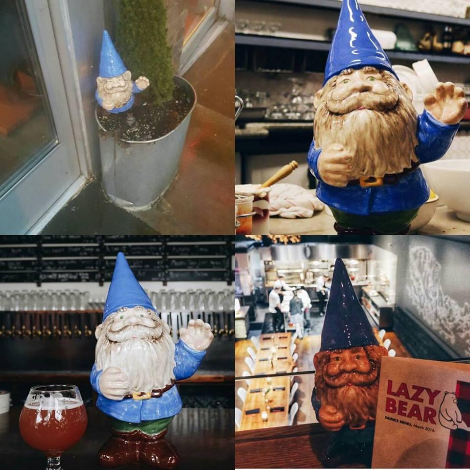 The stolen gnome