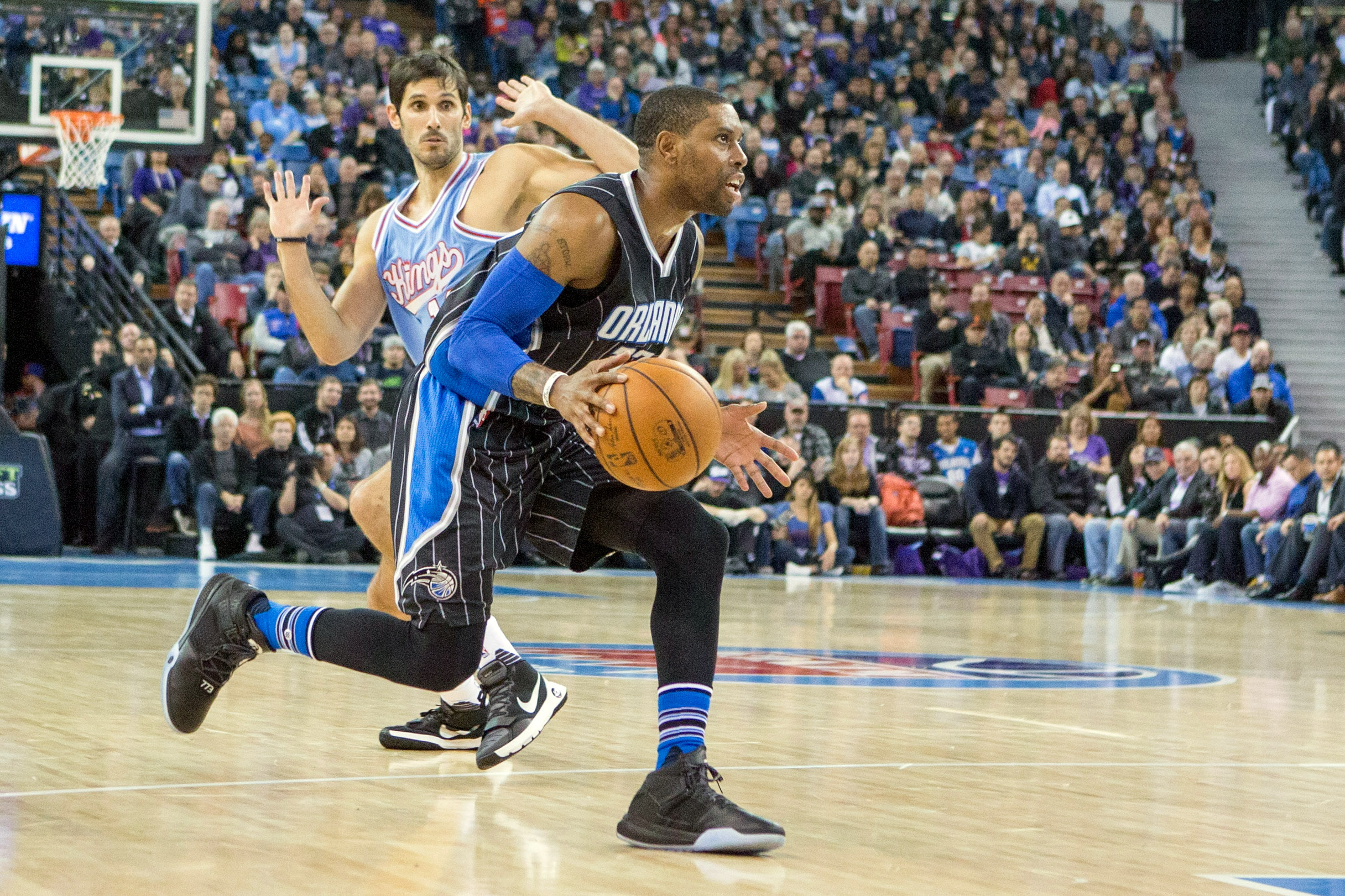 Even without Elfrid Payton and Nikola Vucevic, the Magic were able to blow past the short-handed Kings on offense Friday.