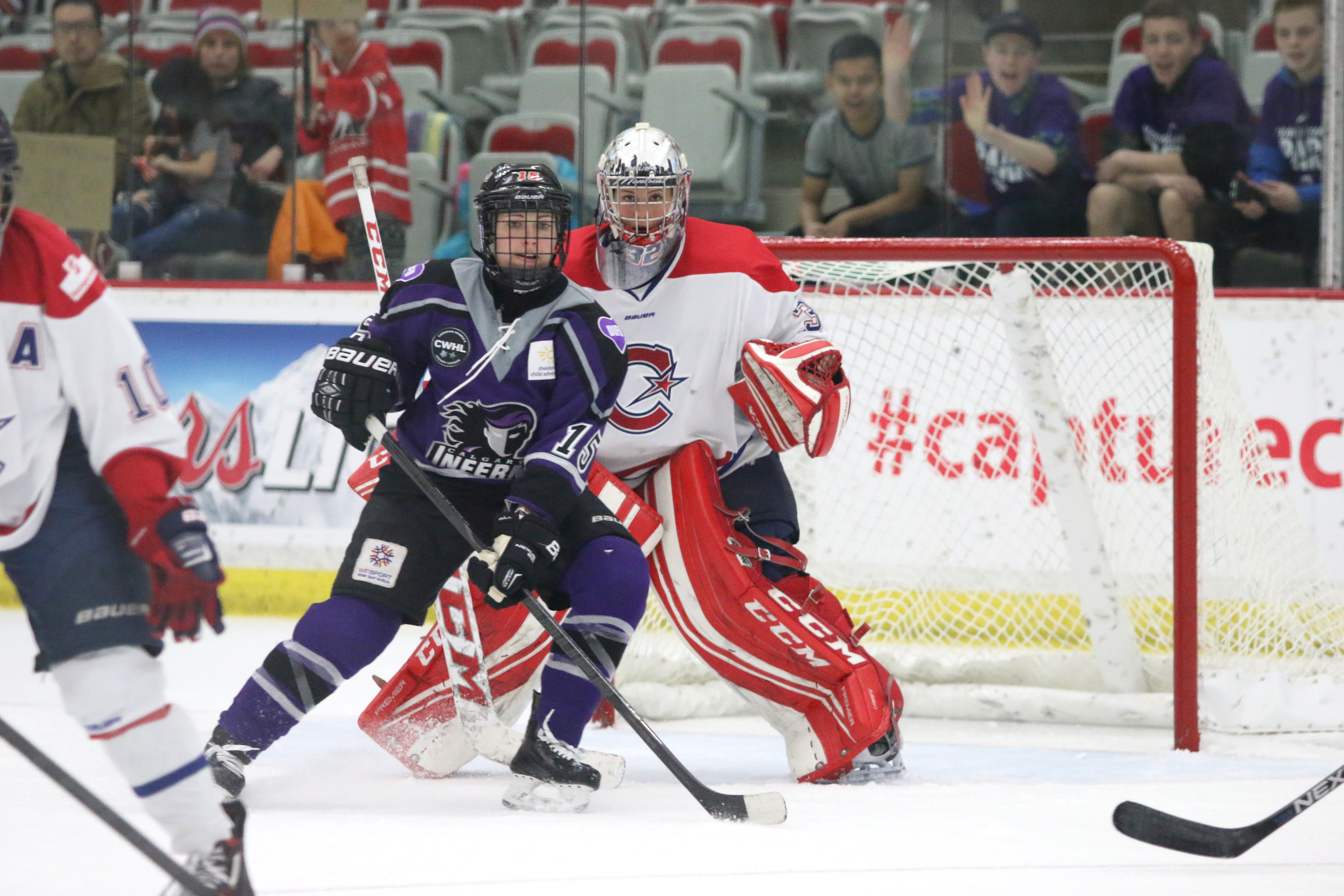 Elana Lovell won the Rookie of the Year Award at the CWHL Awards gala Friday evening in Ottawa. She tied Rebecca Vint of the Thunder for the lead amongst all rookies, with 26 points in the regular season.