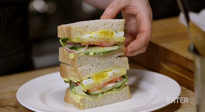 Recipe: Make April Bloomfield's Salad Sandwich