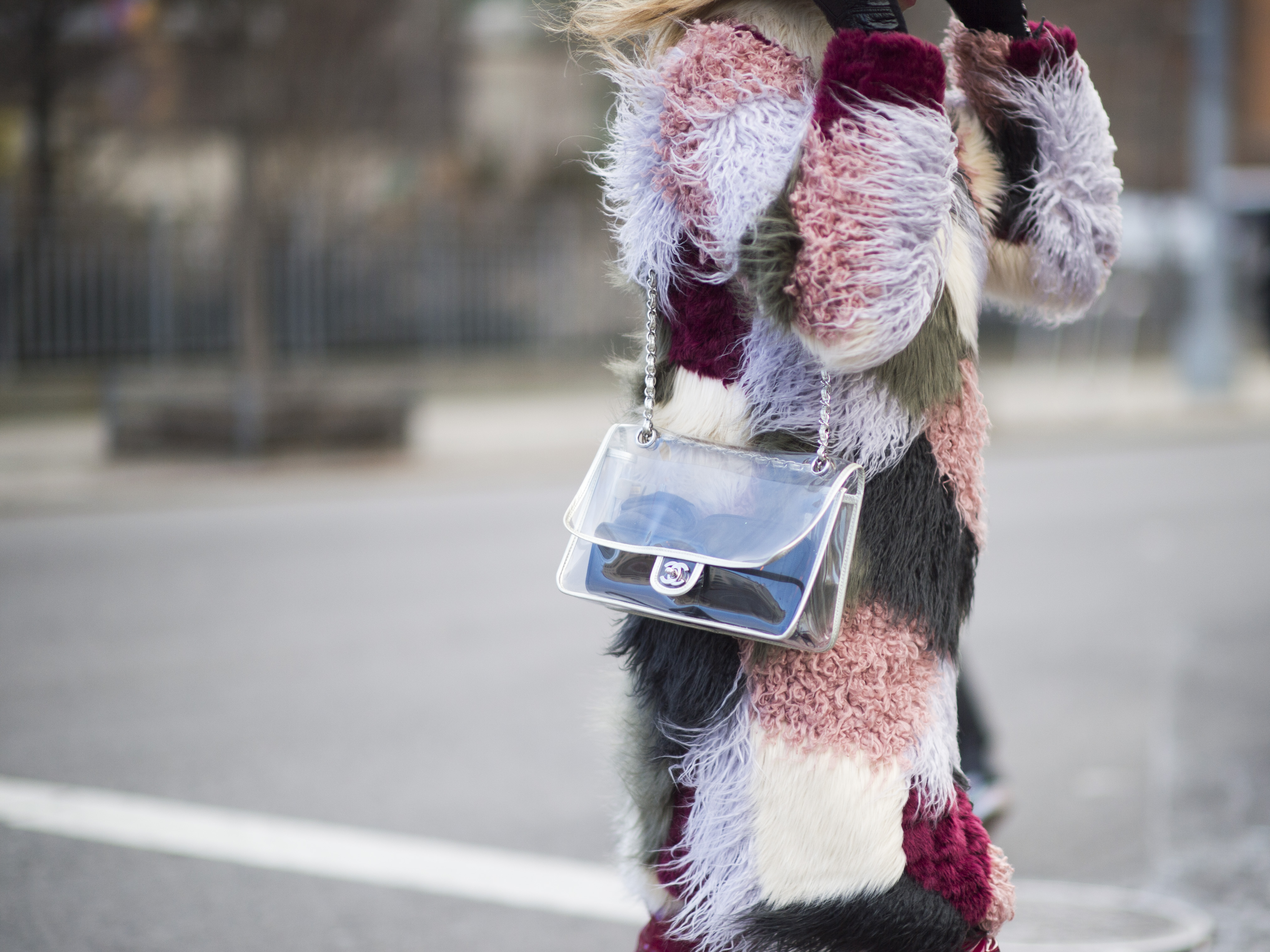 A Chanel bag spotted during NYFW fall 2016