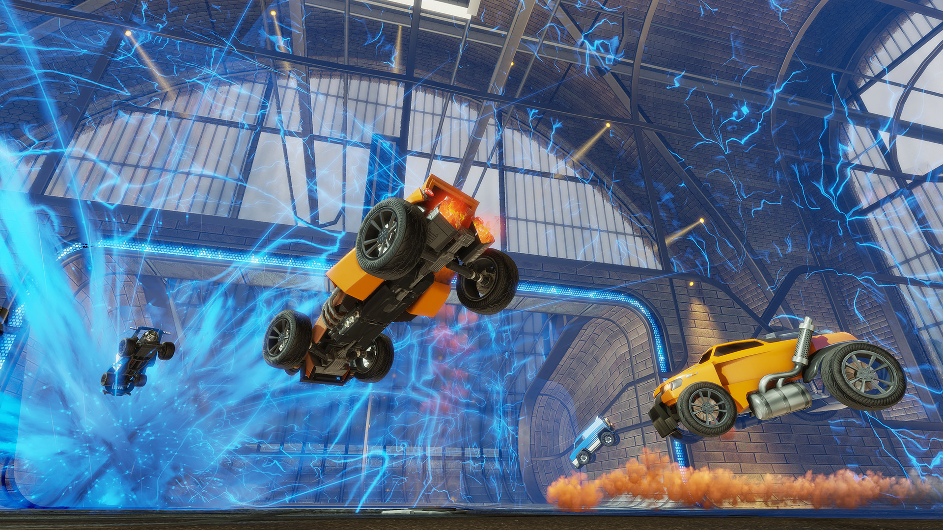 Cross-platform play coming to Rocket League as Xbox Live opens up to