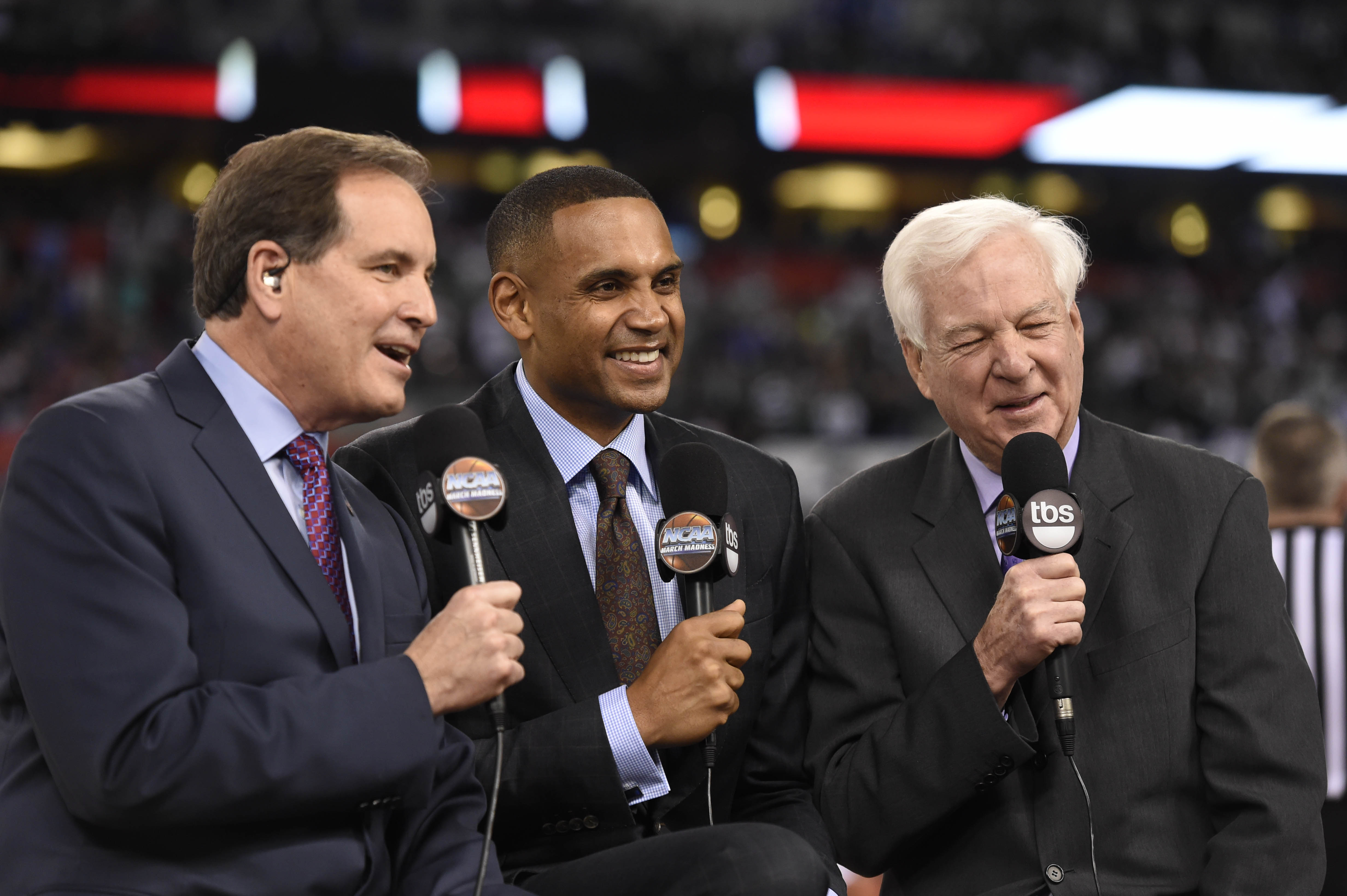 Why can Raftery call games but Gus can't?