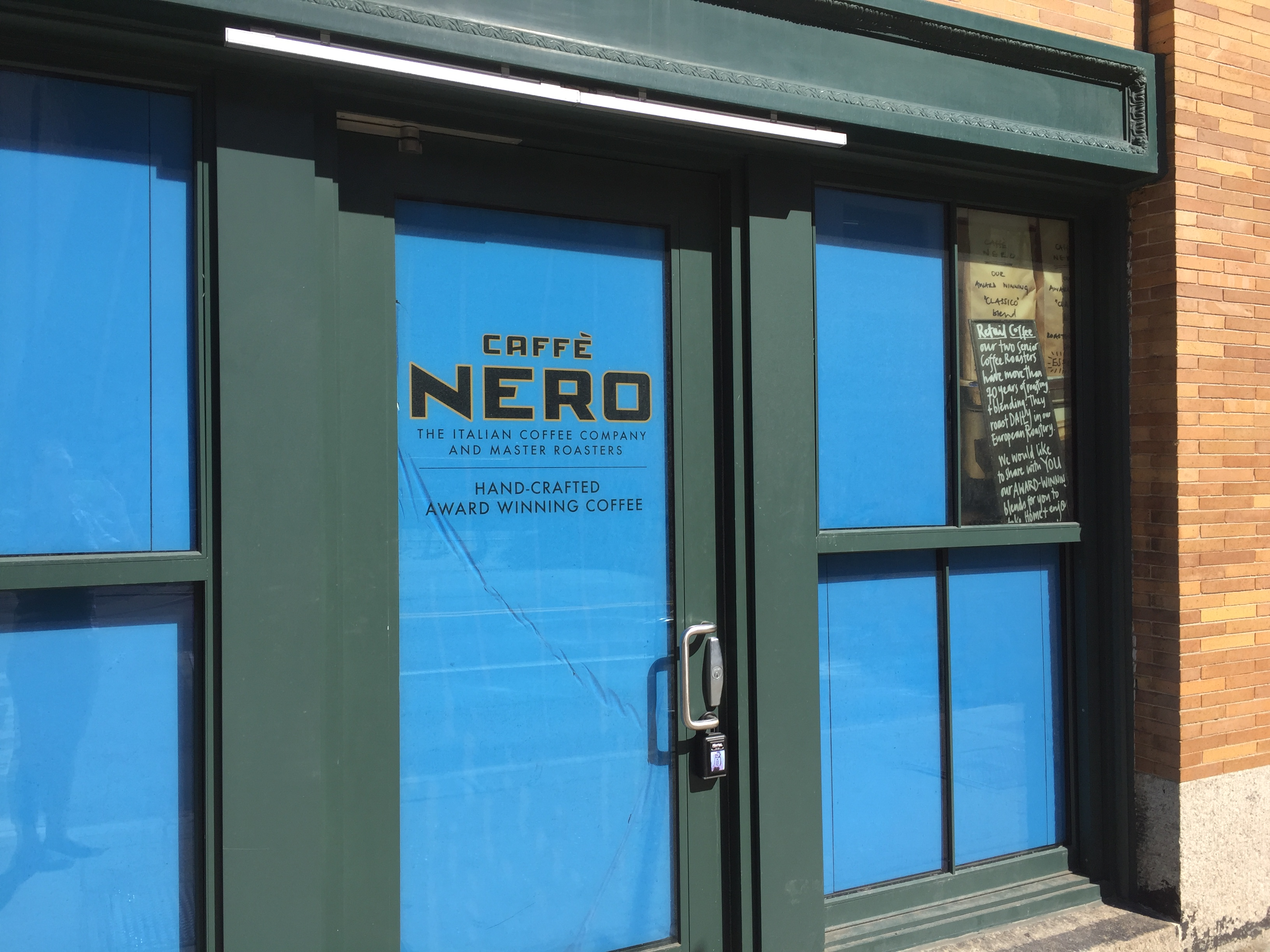 Caffé Nero's forthcoming Fort Point location