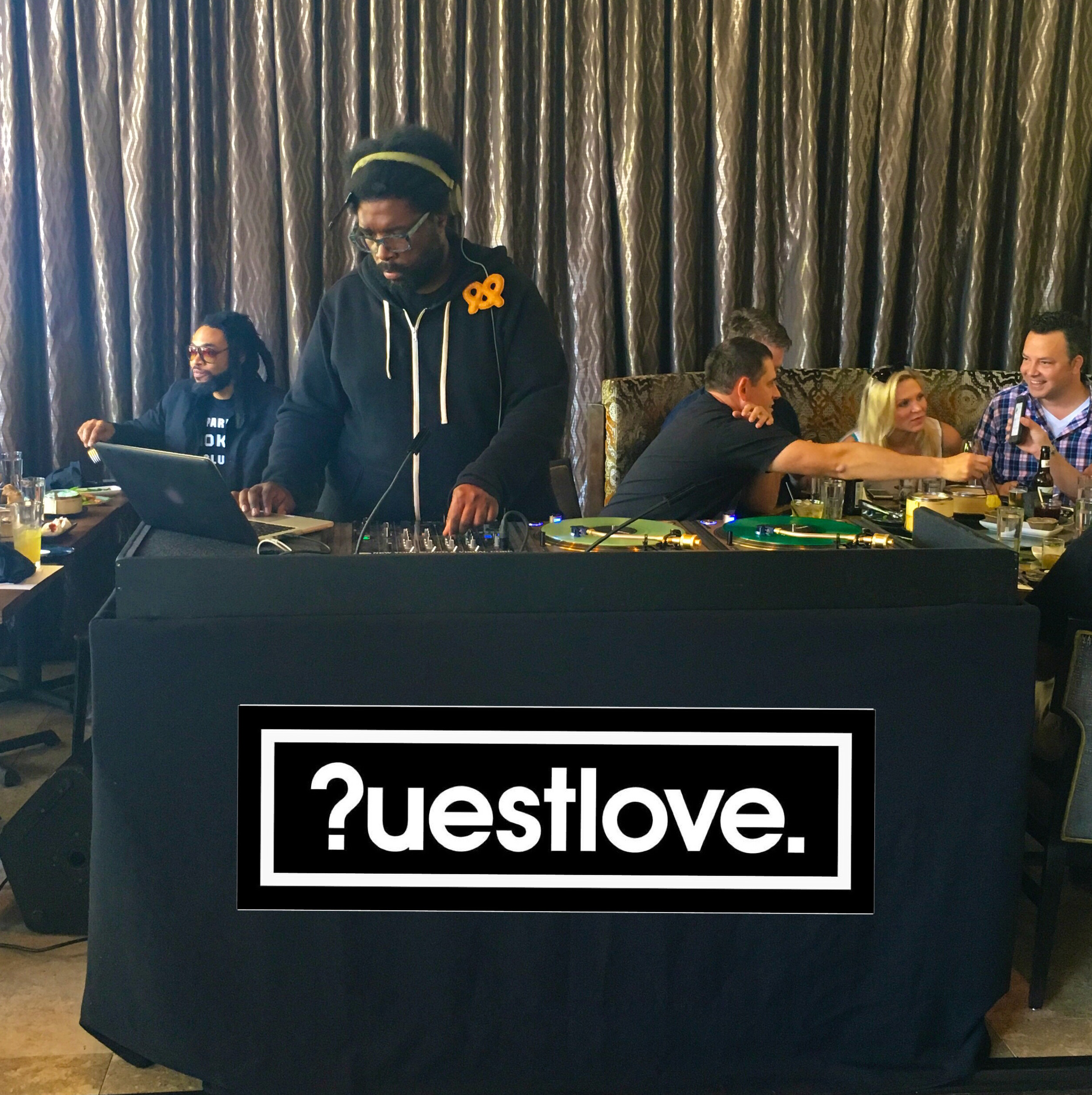 Questlove at Wu Chow