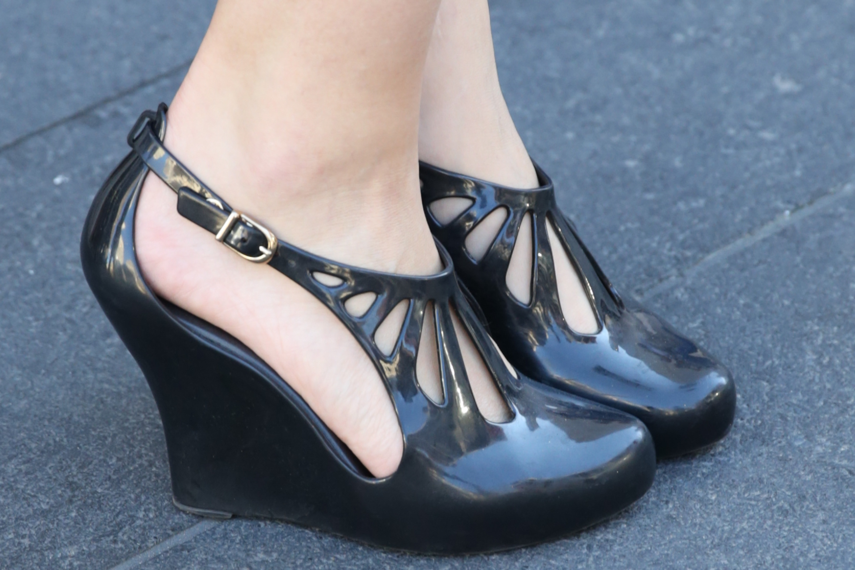 Melissa shoes spotted at NYFW spring 2014