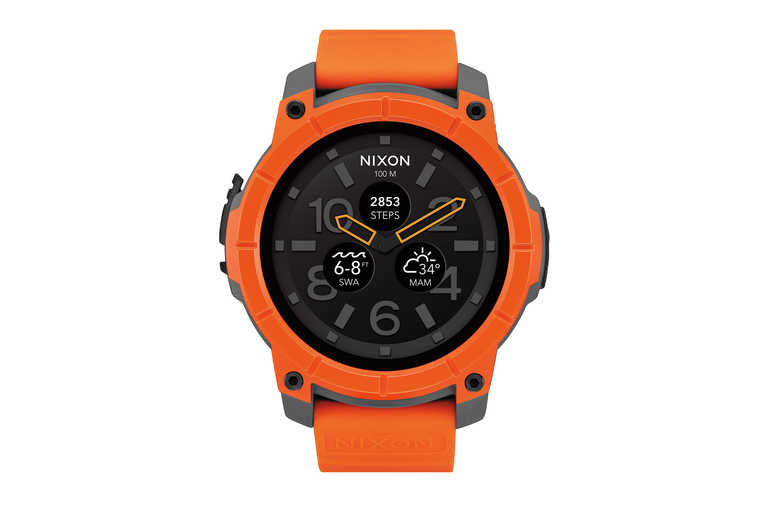 The new Nixon Mission is an Android Wear watch for surfers