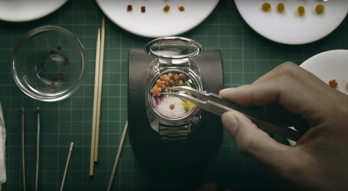 Bento Watch Is the Smart Watch for People Who Like to Snack