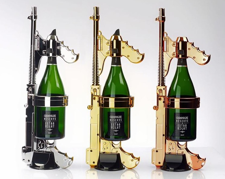 Champagne Machine Guns Are Boozy Super Soakers for the Rich