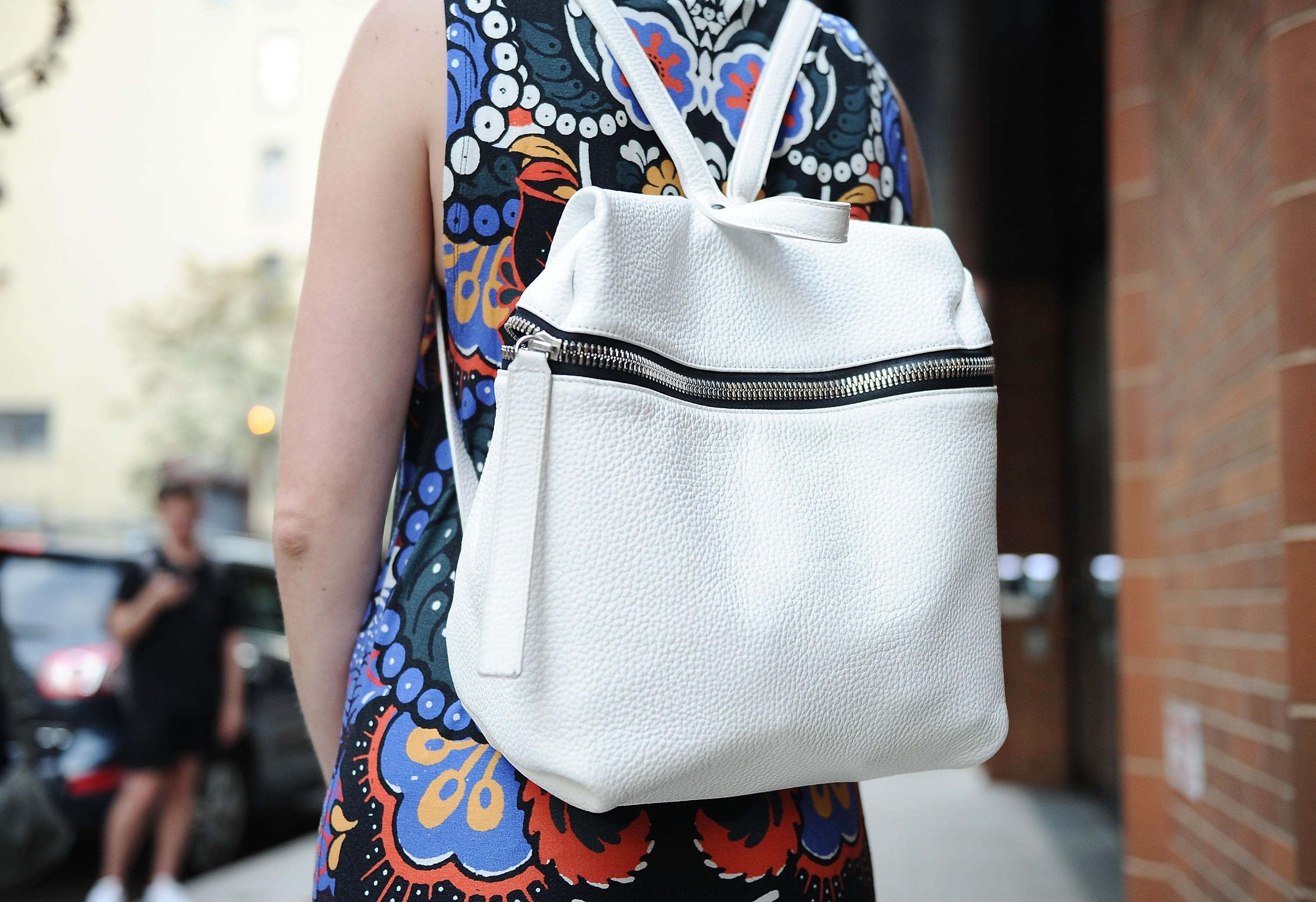 A Kara backpack spotted at NYFW spring 2016