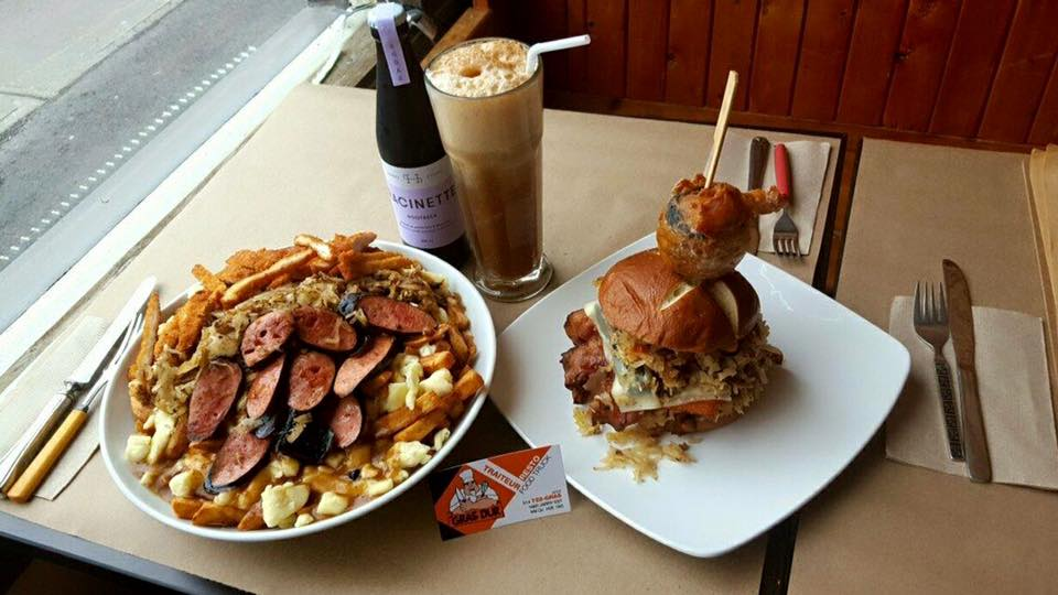 Montreal Restaurant's Insane Food Challenge Starts With Five Pounds of Poutine