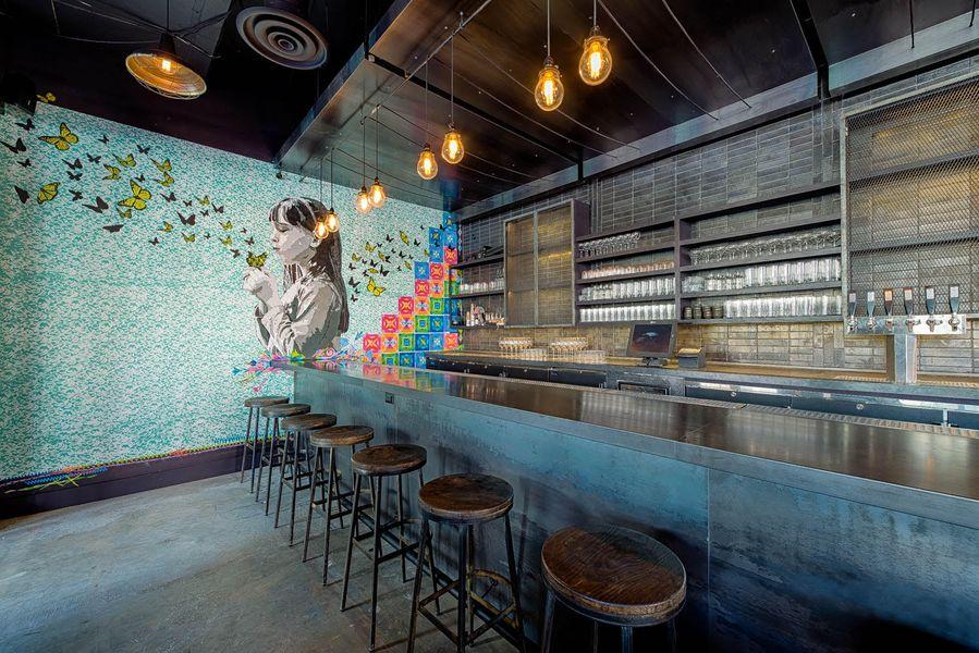 The kitchen space at Espita Mezcaleria