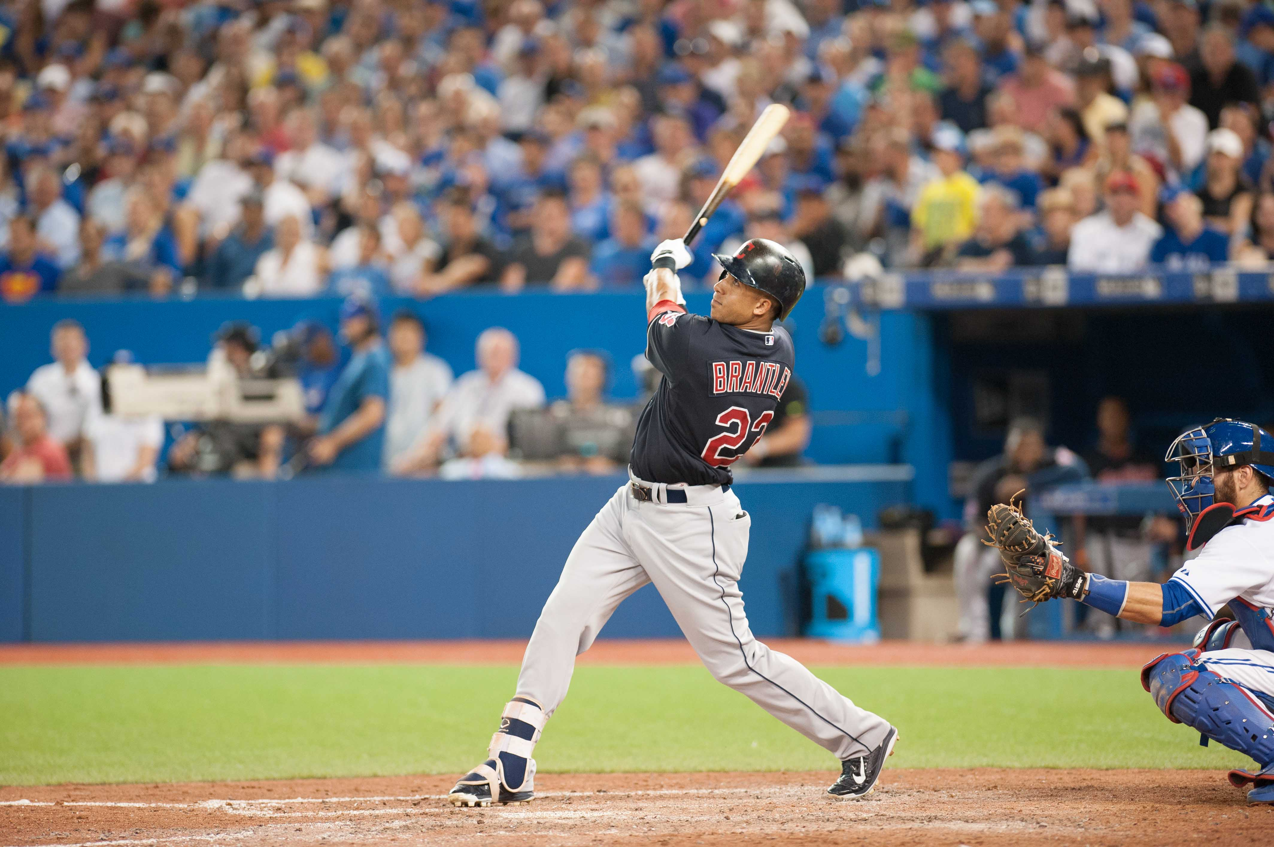 Maybe, just maybe, Michael Brantley will start on Opening Day