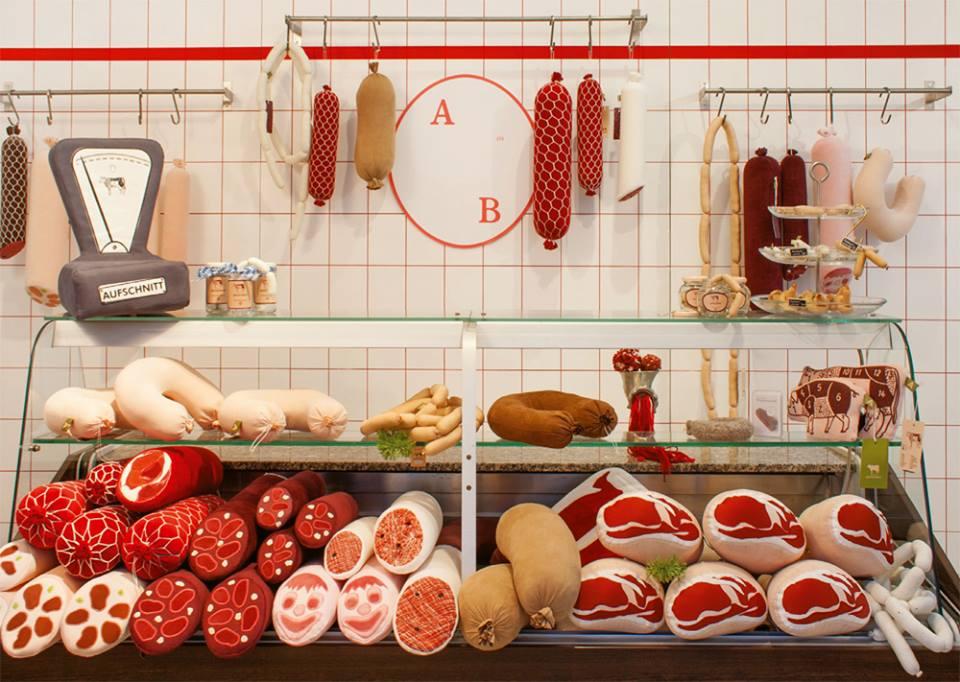 Aufschnitt Berlin's counter looks remarkably similar to an old-school butcher shop.