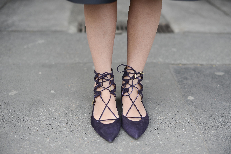 Aquazzura shoes spotted at MFW fall 2015