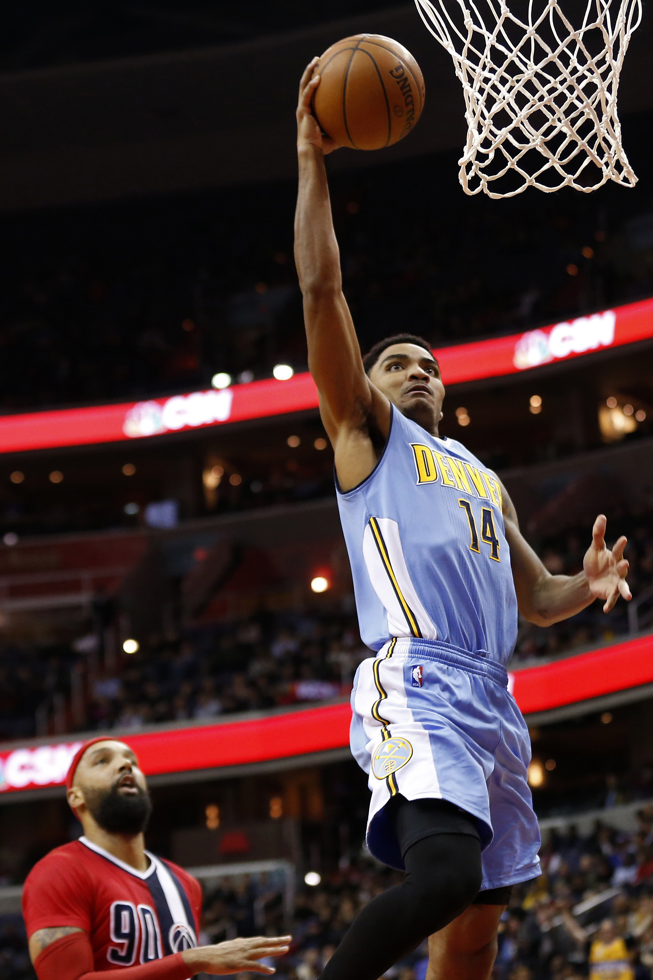 Gary Harris has taken flight in his second year with the Denver Nuggets