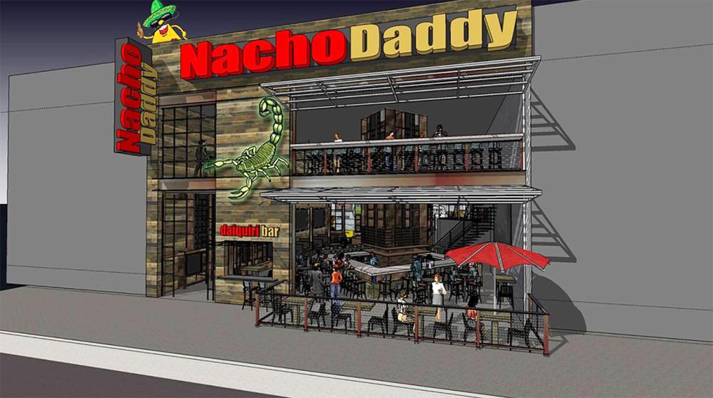 Nacho Daddy rendering