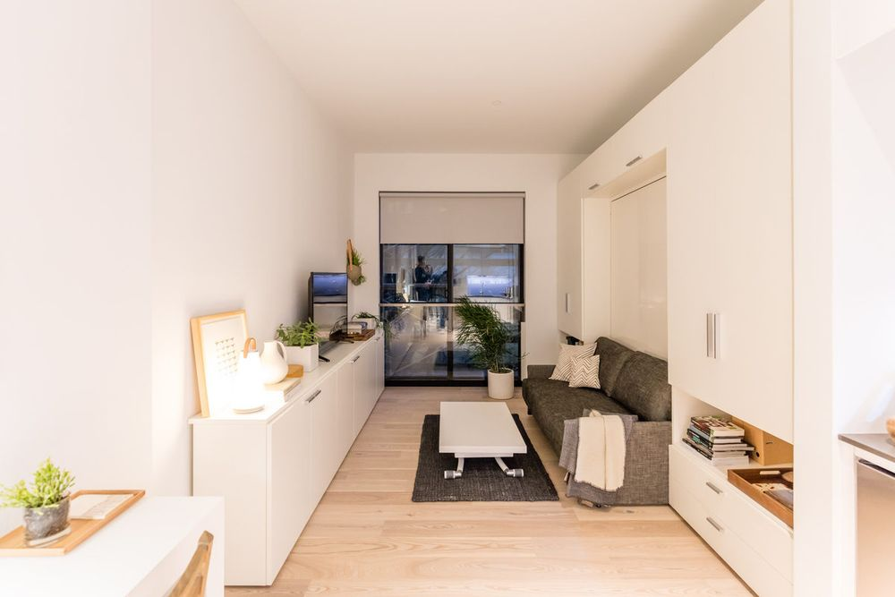 student apartment smallest new york apartments. NYC s First Micro Unit Building Will Welcome Residents on June 1 Apartments  Curbed NY