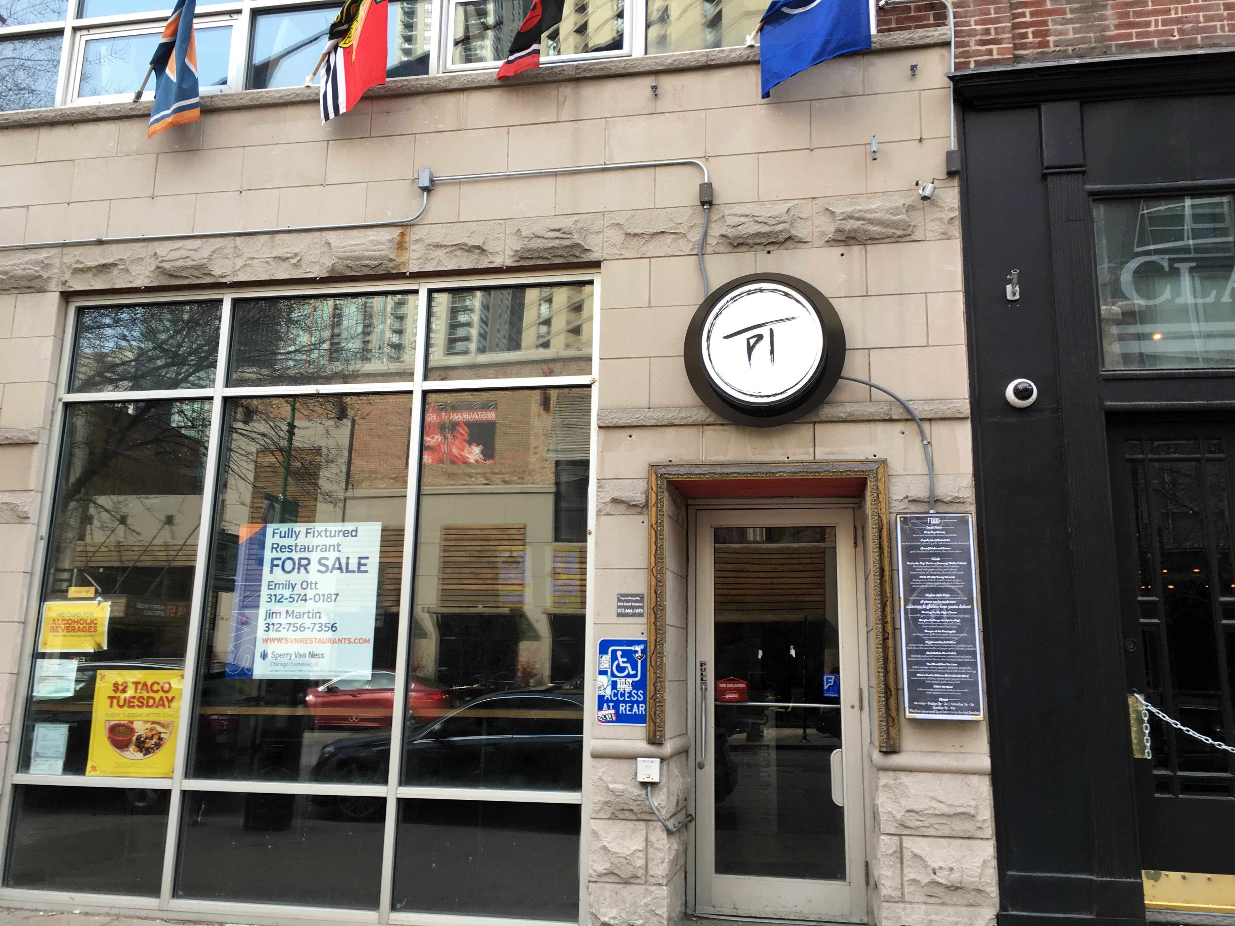 Both the Pi Gallery Bar and Mercadito Counter spaces are on the market